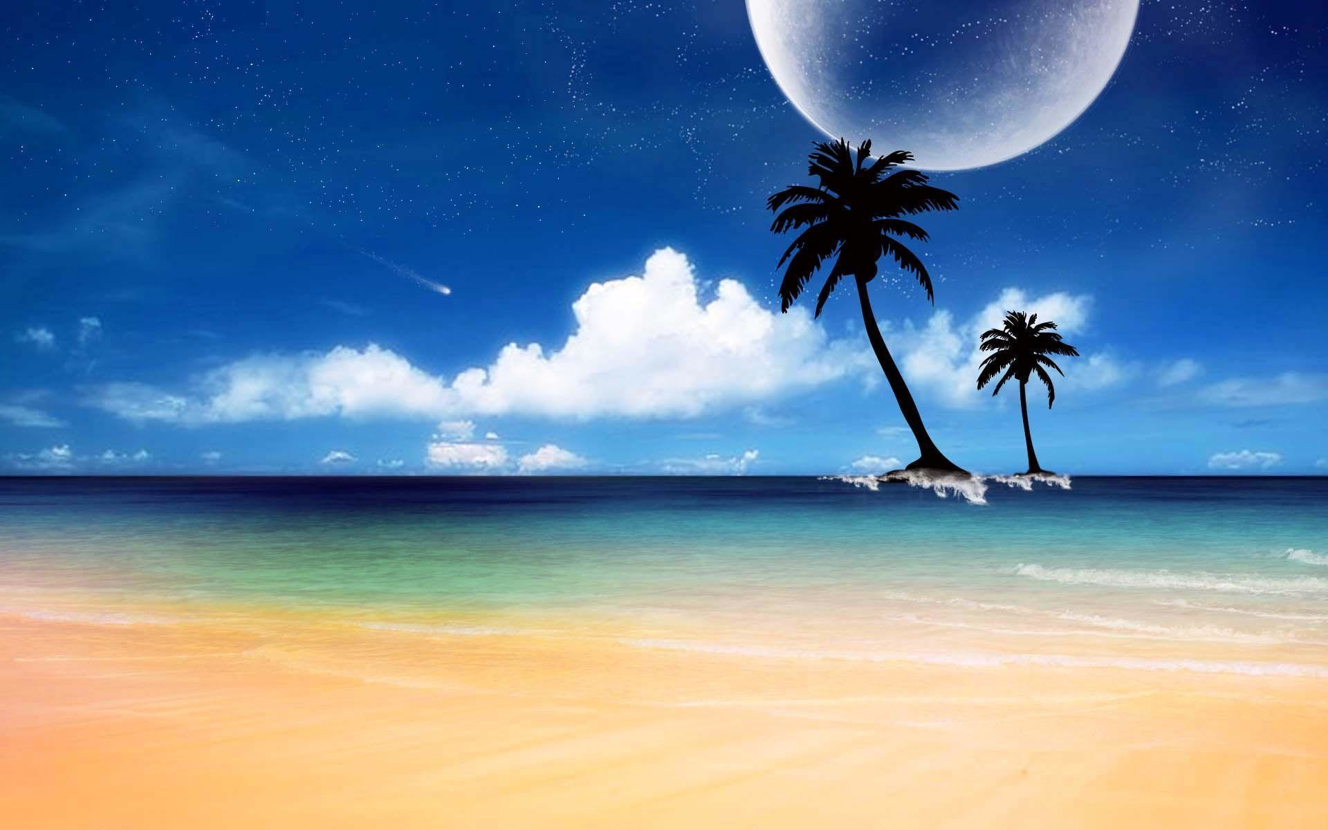 PreviousNext. Previous Image Next Image. sunny day at the beach wallpaper  …