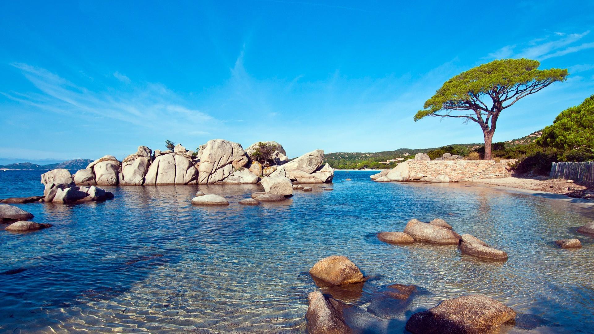 … x 1080 Original. Description: Download Palombaggia Beach Sunny Nature &  Landscape wallpaper …