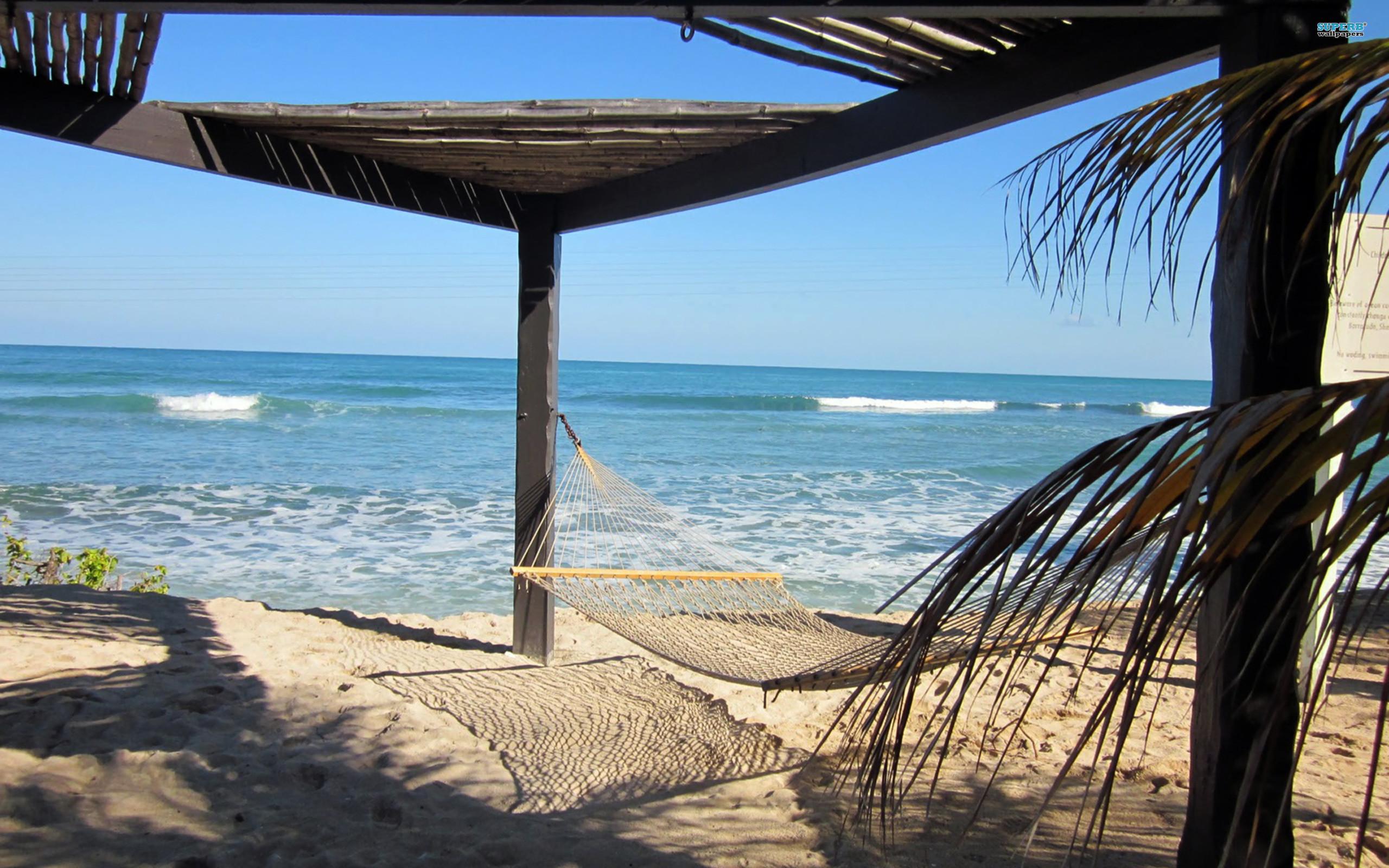 SUnny beach on Haiti