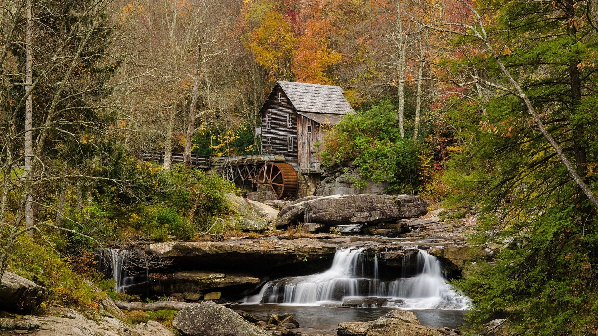 Autumn Tag – Seasons Landscapes Forest Scenic Streams Fall Nature Rivers  Mill Autumn Wallpapers Hd Full
