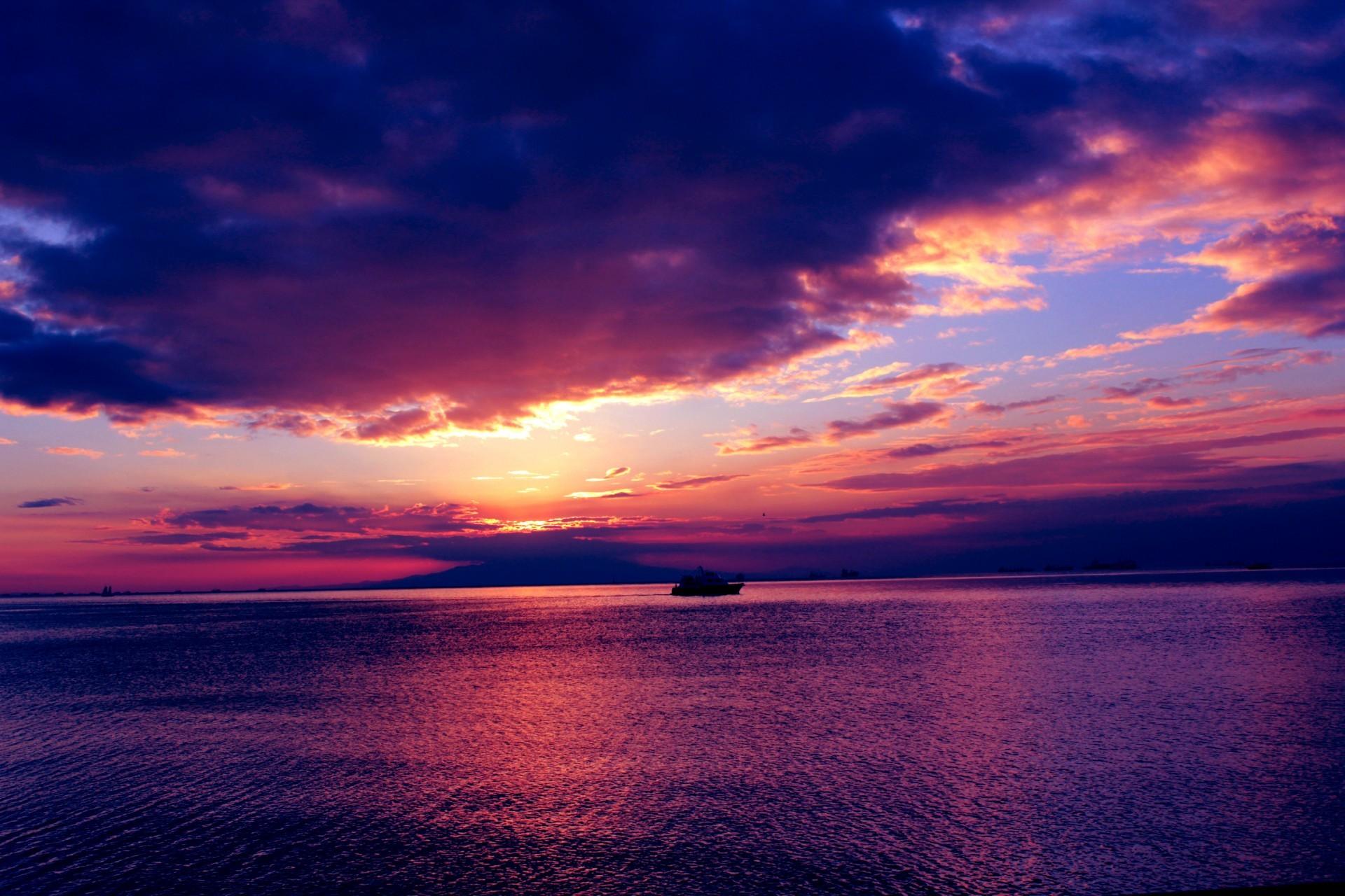 … Sunset Background …