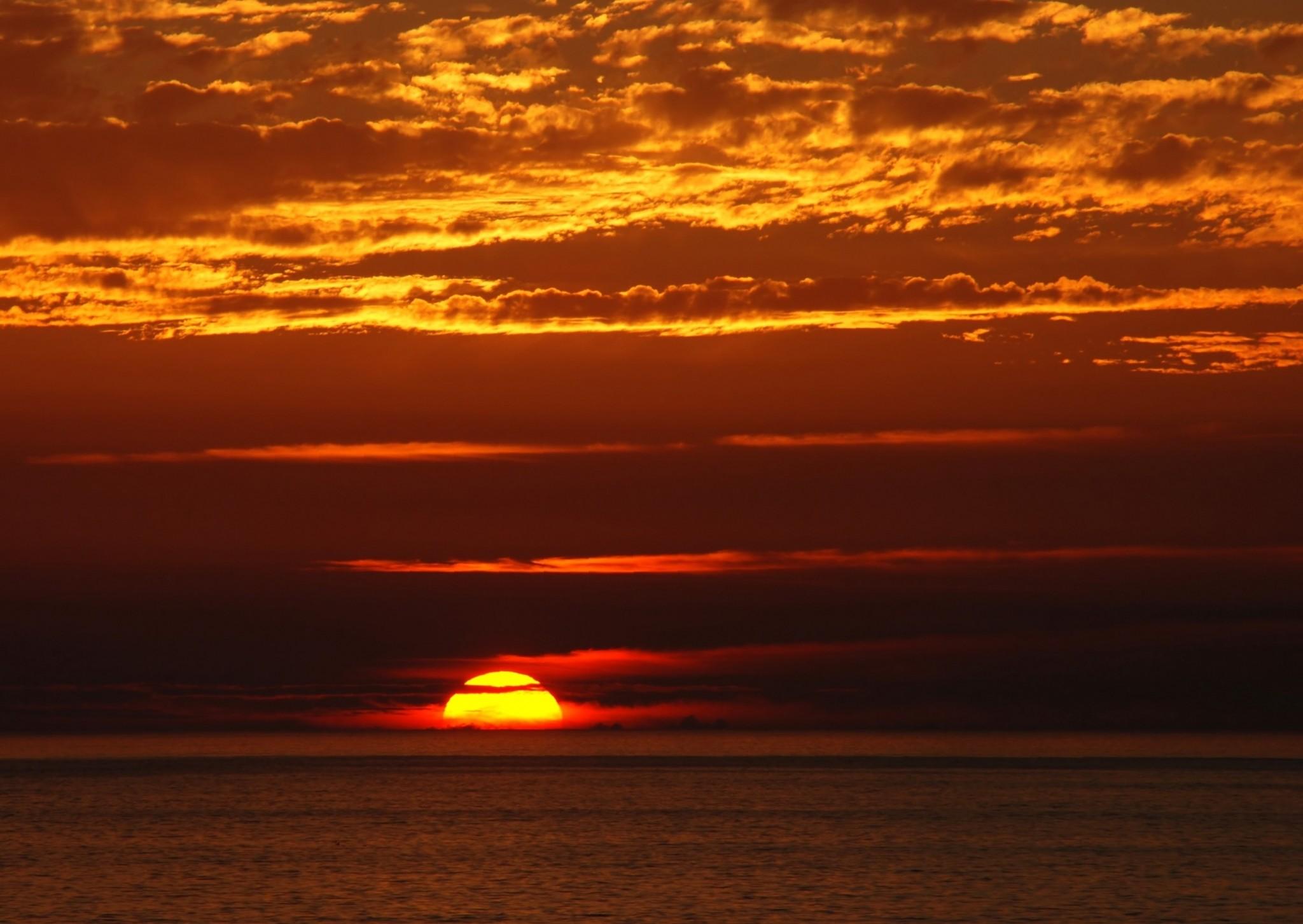 sunset background hd