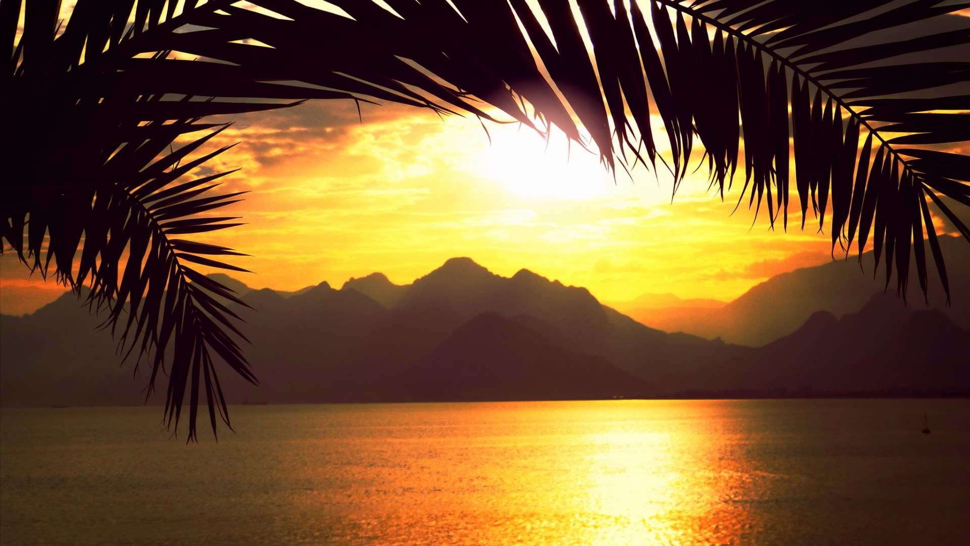 Relaxing Sunset Background (9 Wallpapers)