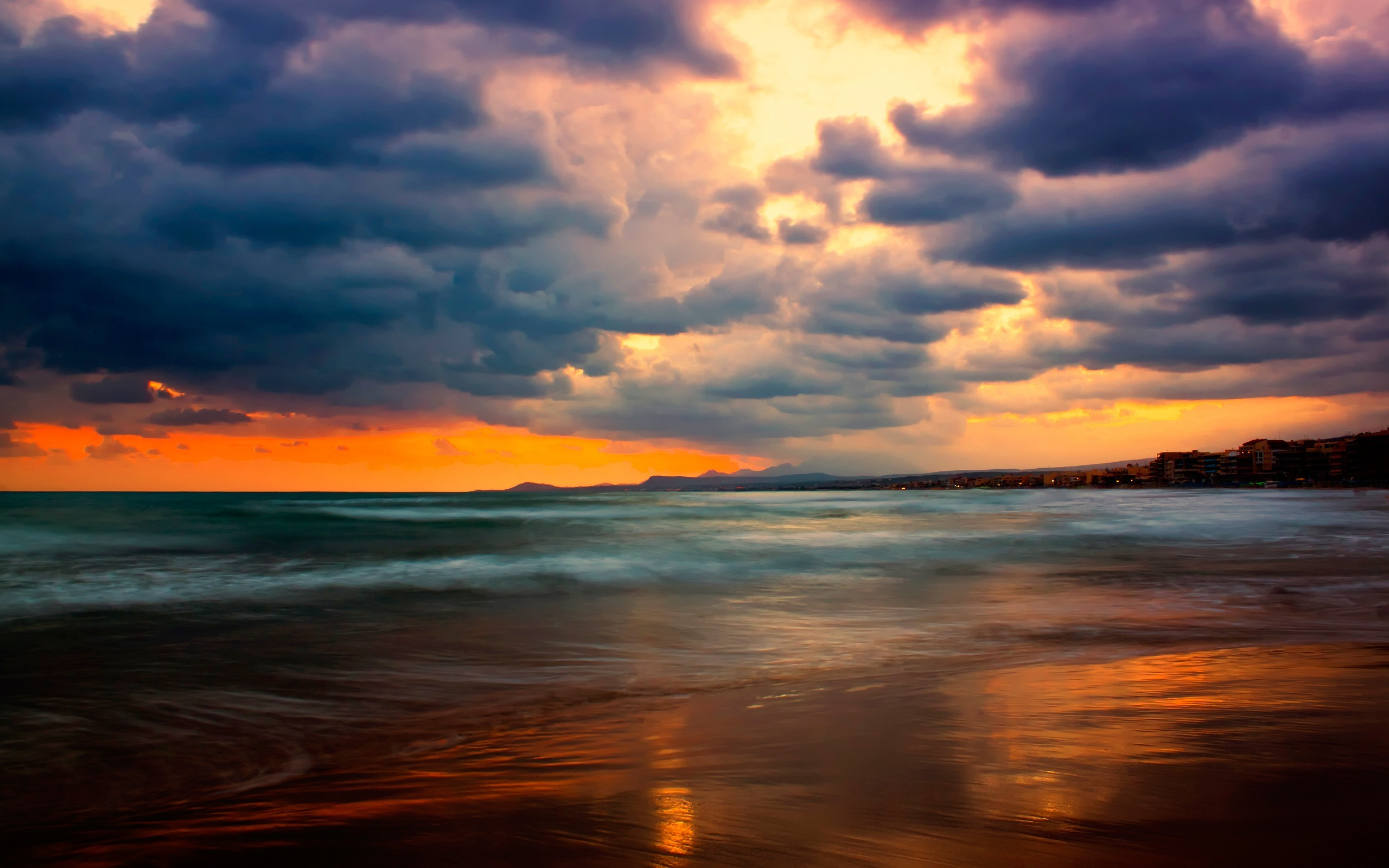 Clouds and Sunset Wallpapers