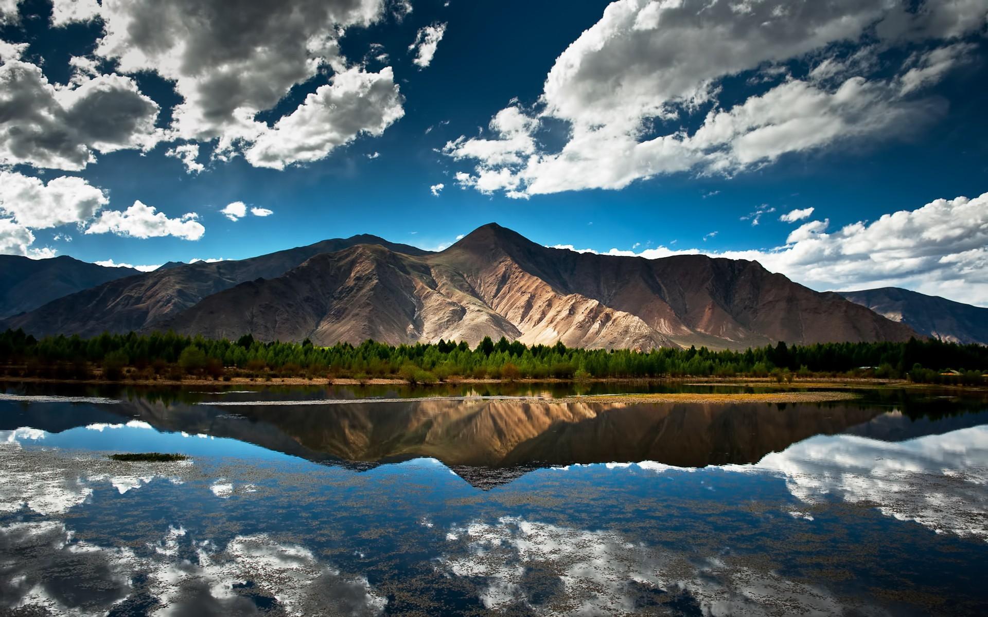 Mountains Wallpaper Widescreen HD 169