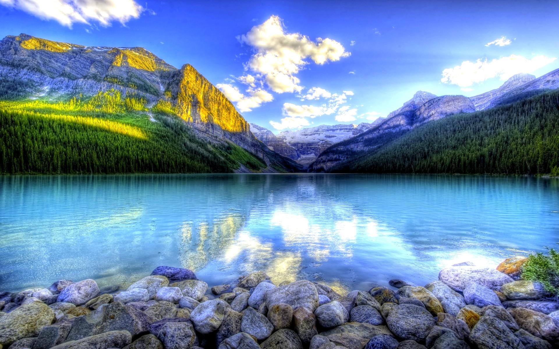 Mountain Lake Wallpaper High Resolution