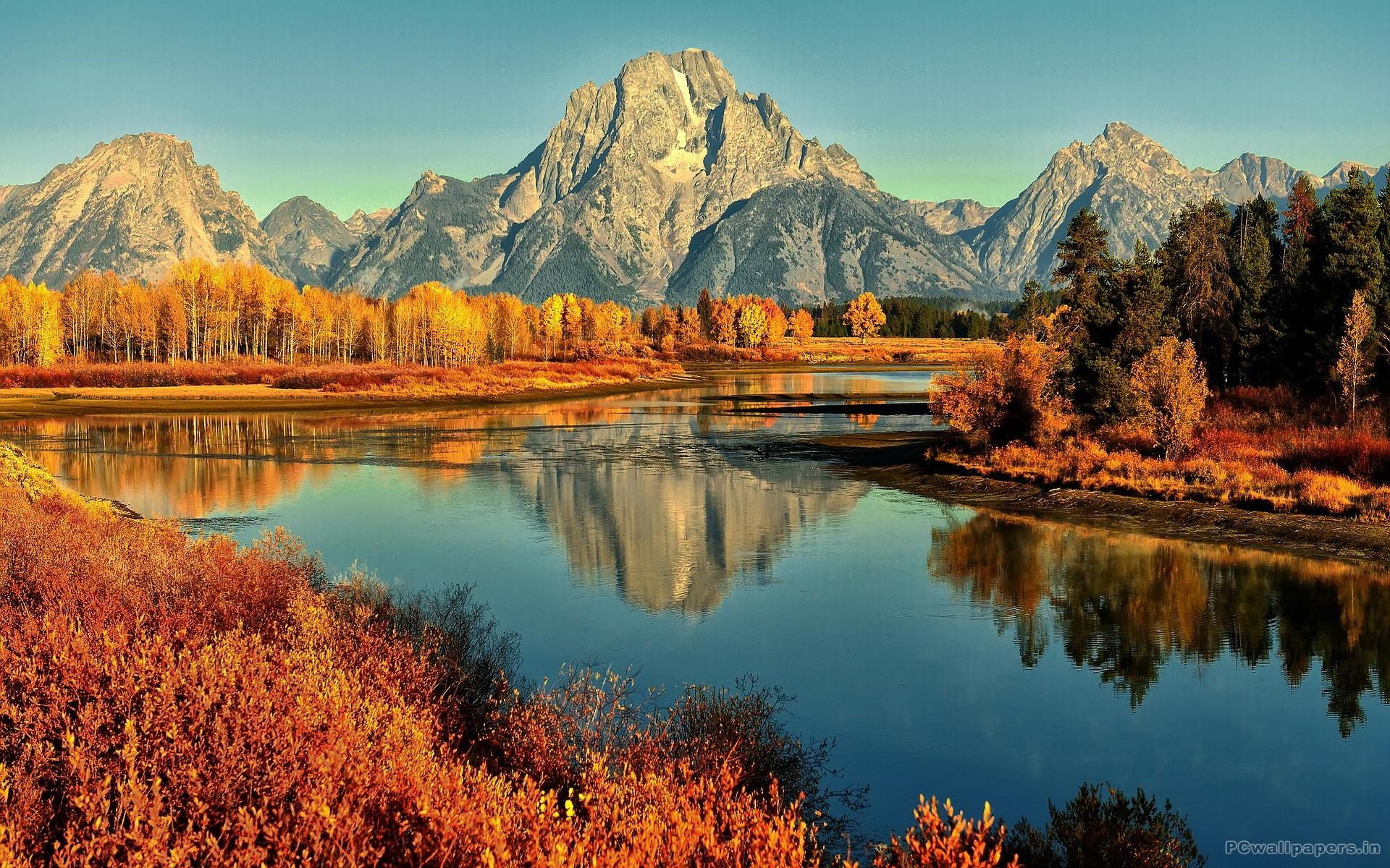 fall desktop wallpaper mountains – Google Search