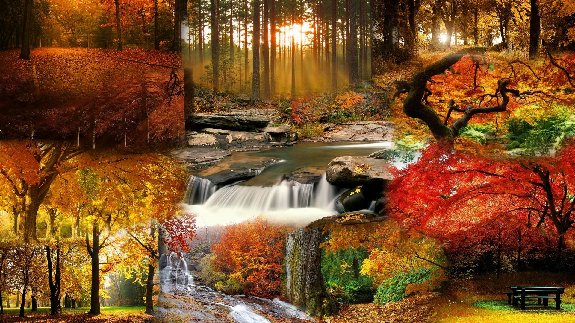 Beautiful Fall Landscape Wallpaper – Tera Wallpaper