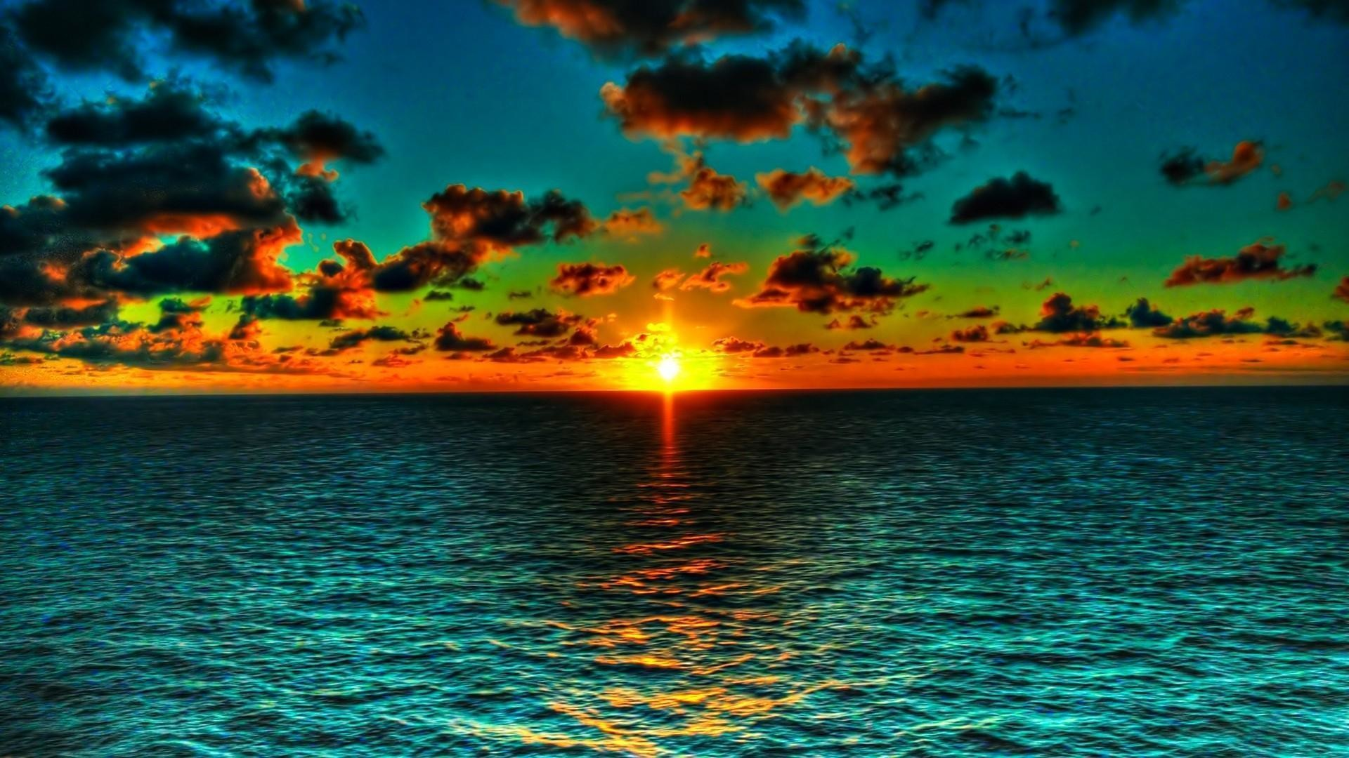 Free Wallpaper Ocean Sunset Pictures 5 HD Wallpapers   Eakai.
