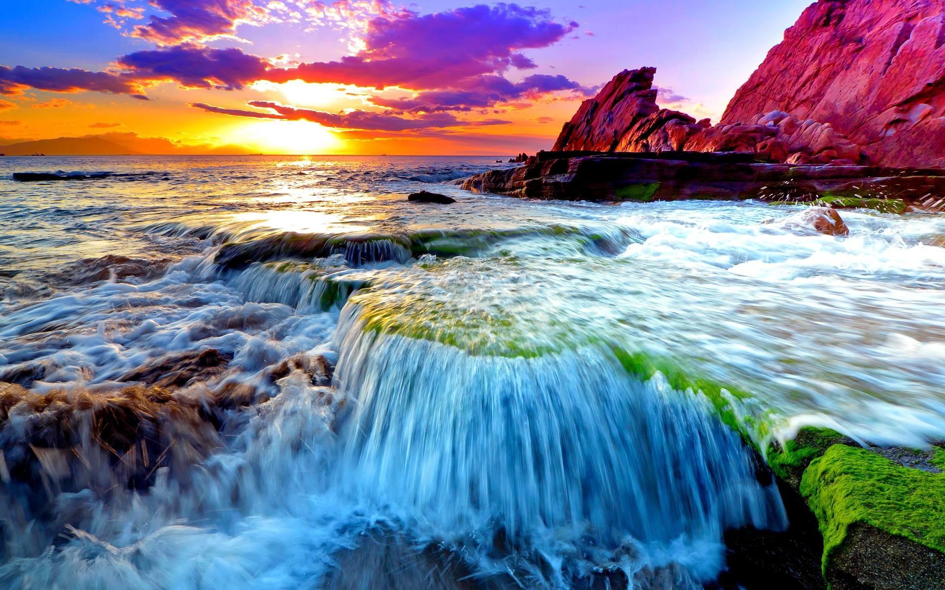 Pix For > Ocean Scenes Wallpaper