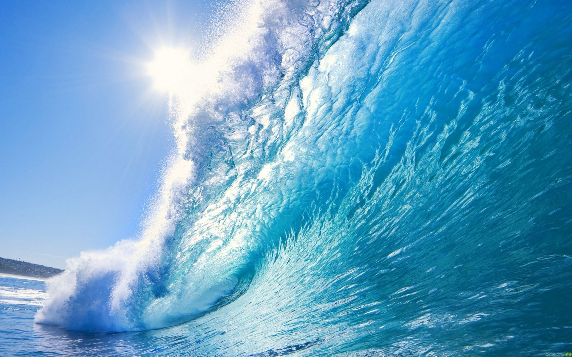 Beautiful Ocean Waves Wallpaper