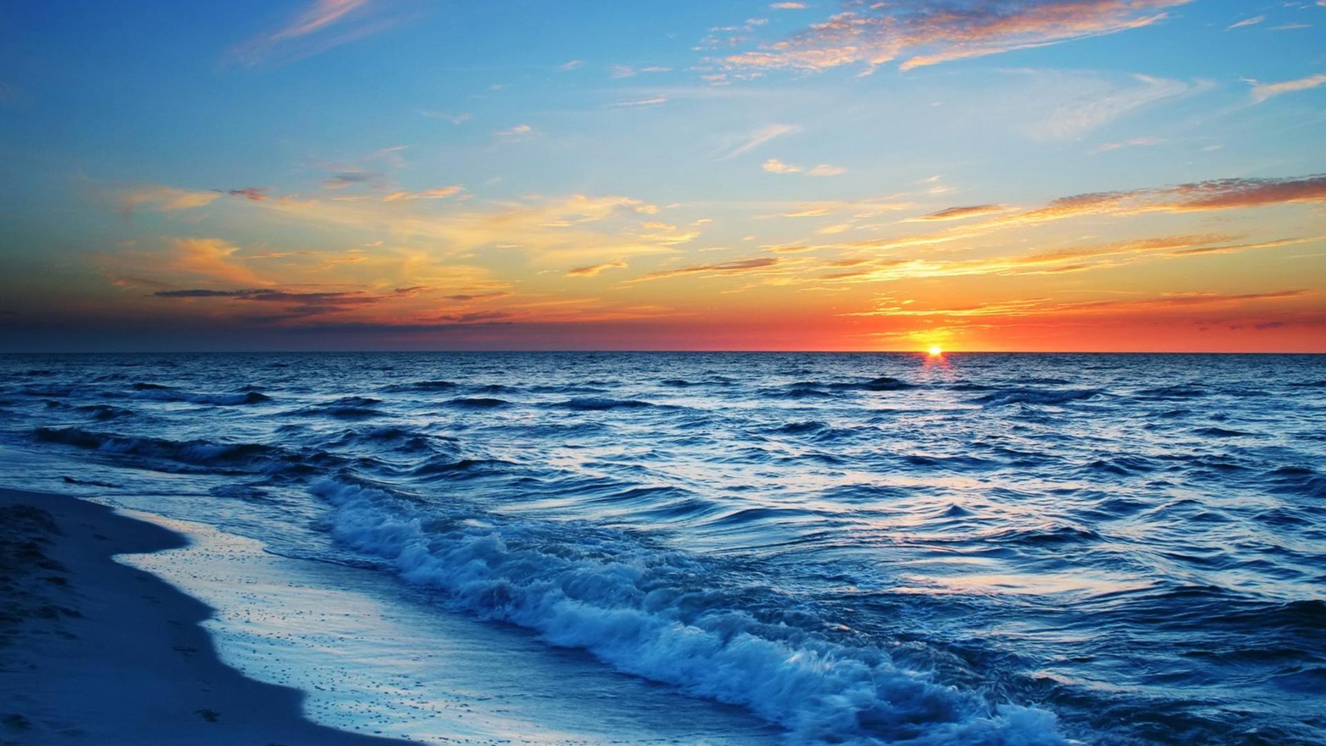 Ocean Sunset Wallpapers – Wallpaper Cave