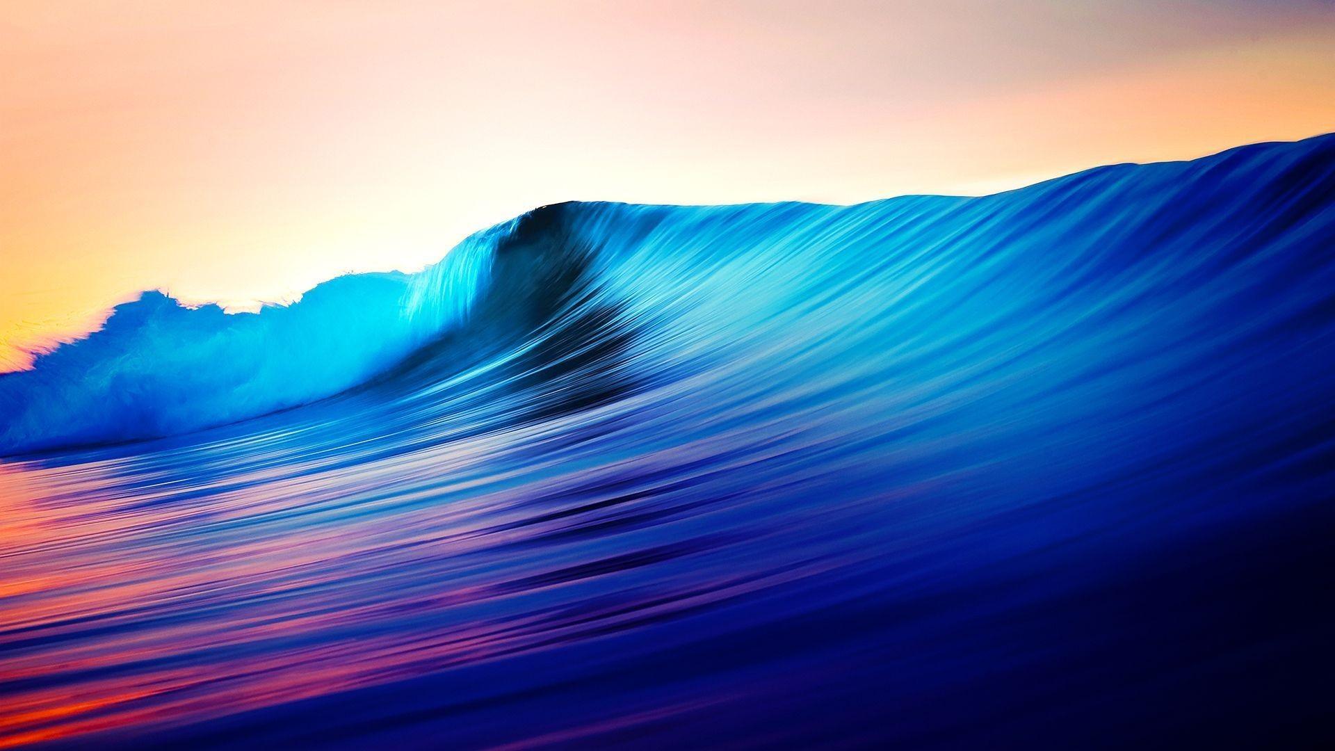 Beautiful Oceans Sea Shiny Waves Nature Ocean Wallpaper Ios – 1920×1080