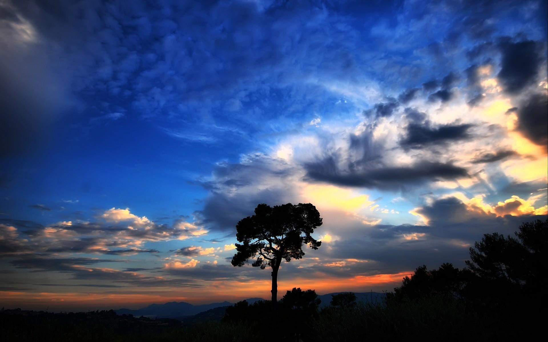 Beautiful Sky Wallpaper Landscape Nature