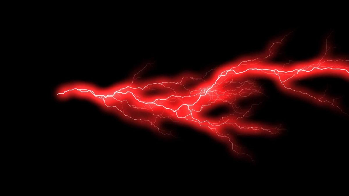Force Lightning Red Animation 2 FREE FOOTAGE HD YouTube