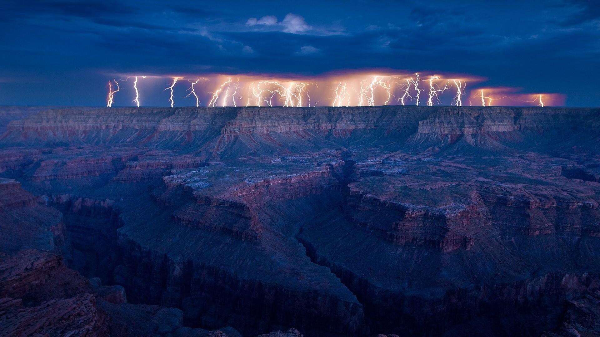 Lightning Bolt Backgrounds 1920×1080