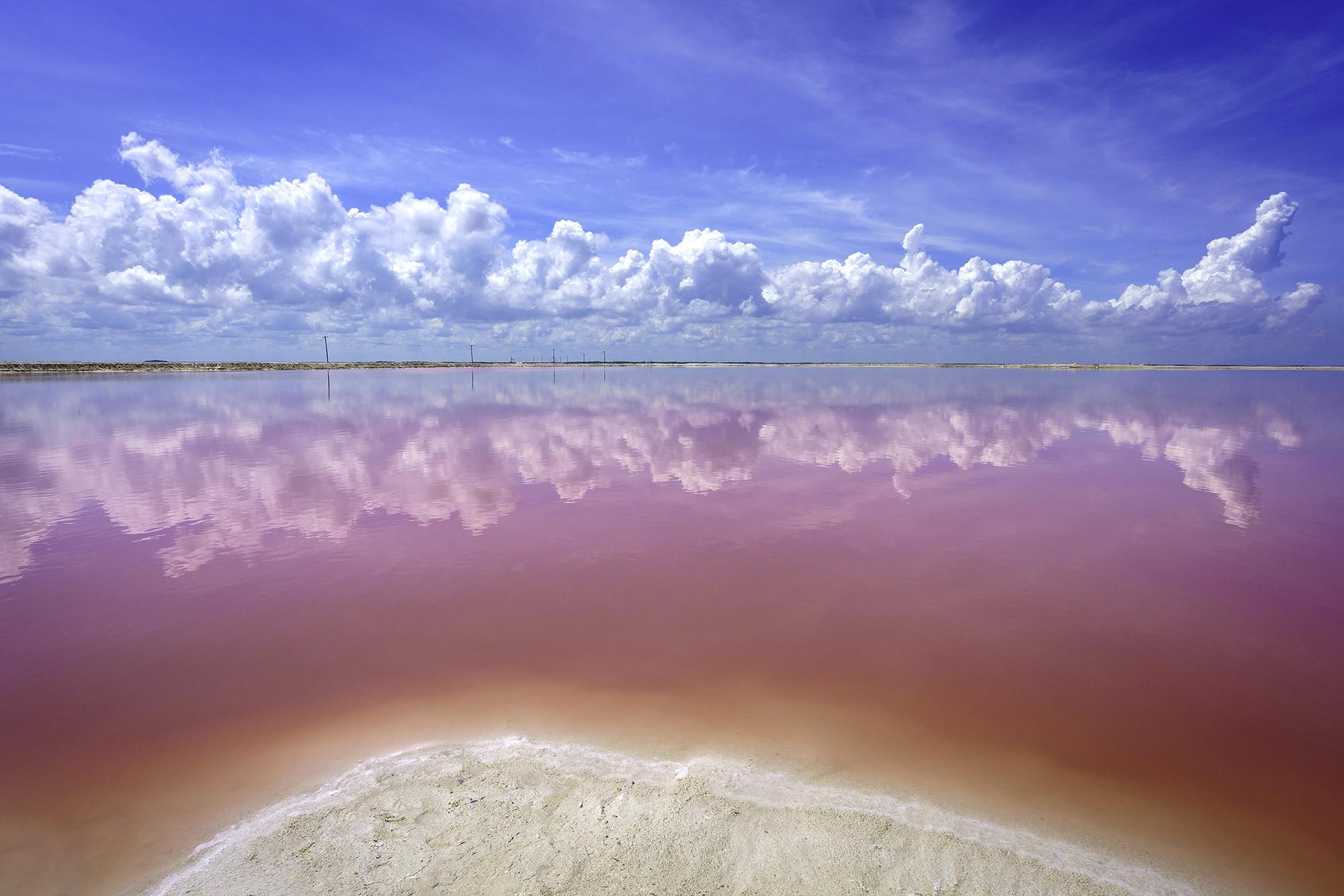 Pink Lakes of Las Coloradas