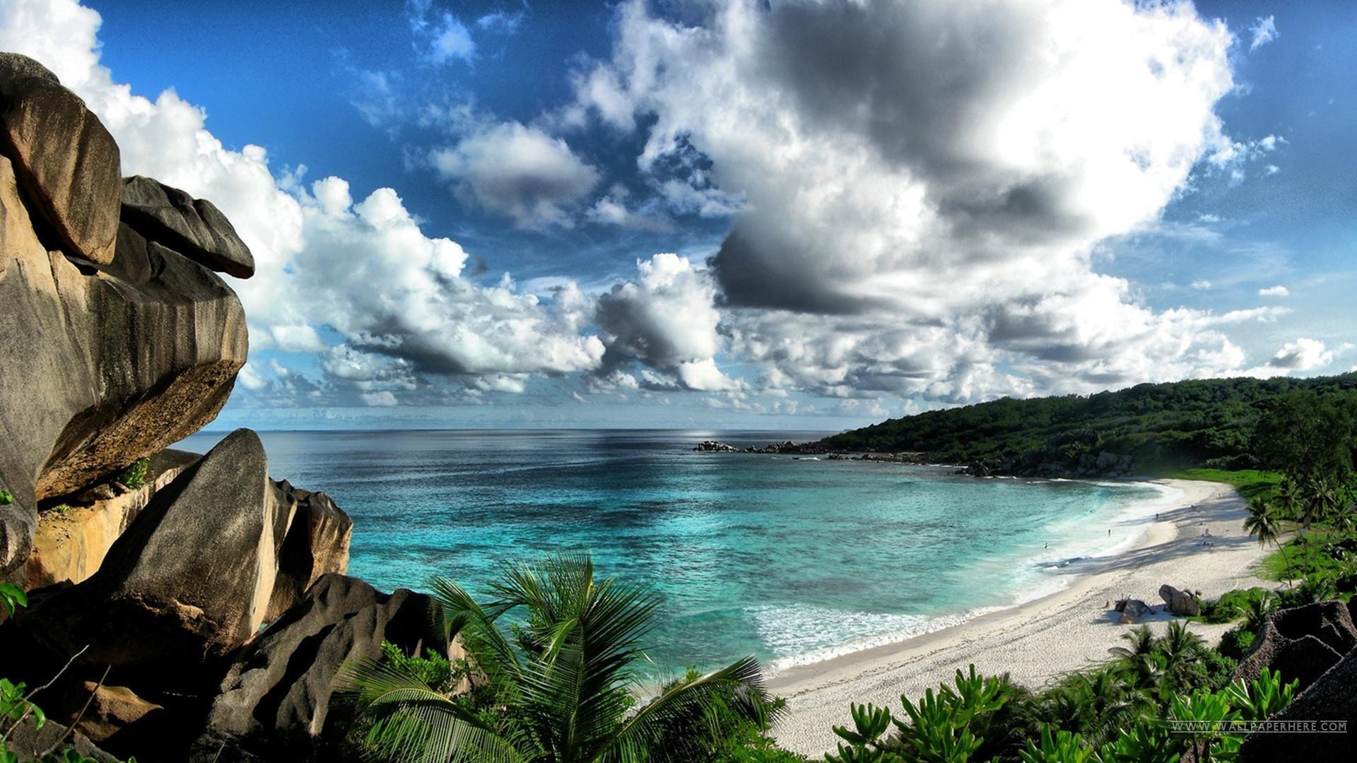 Beautiful Ocean Blue Sky