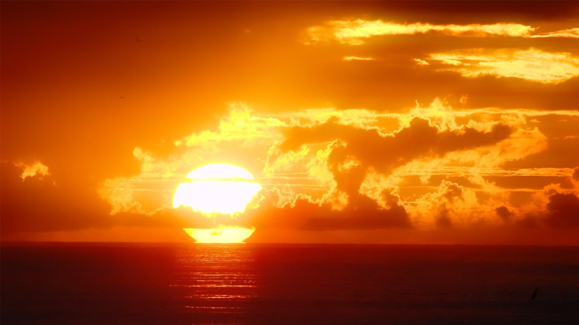Beautiful Ocean Sunset Pictures – Beautiful Wallpapers Wallike.