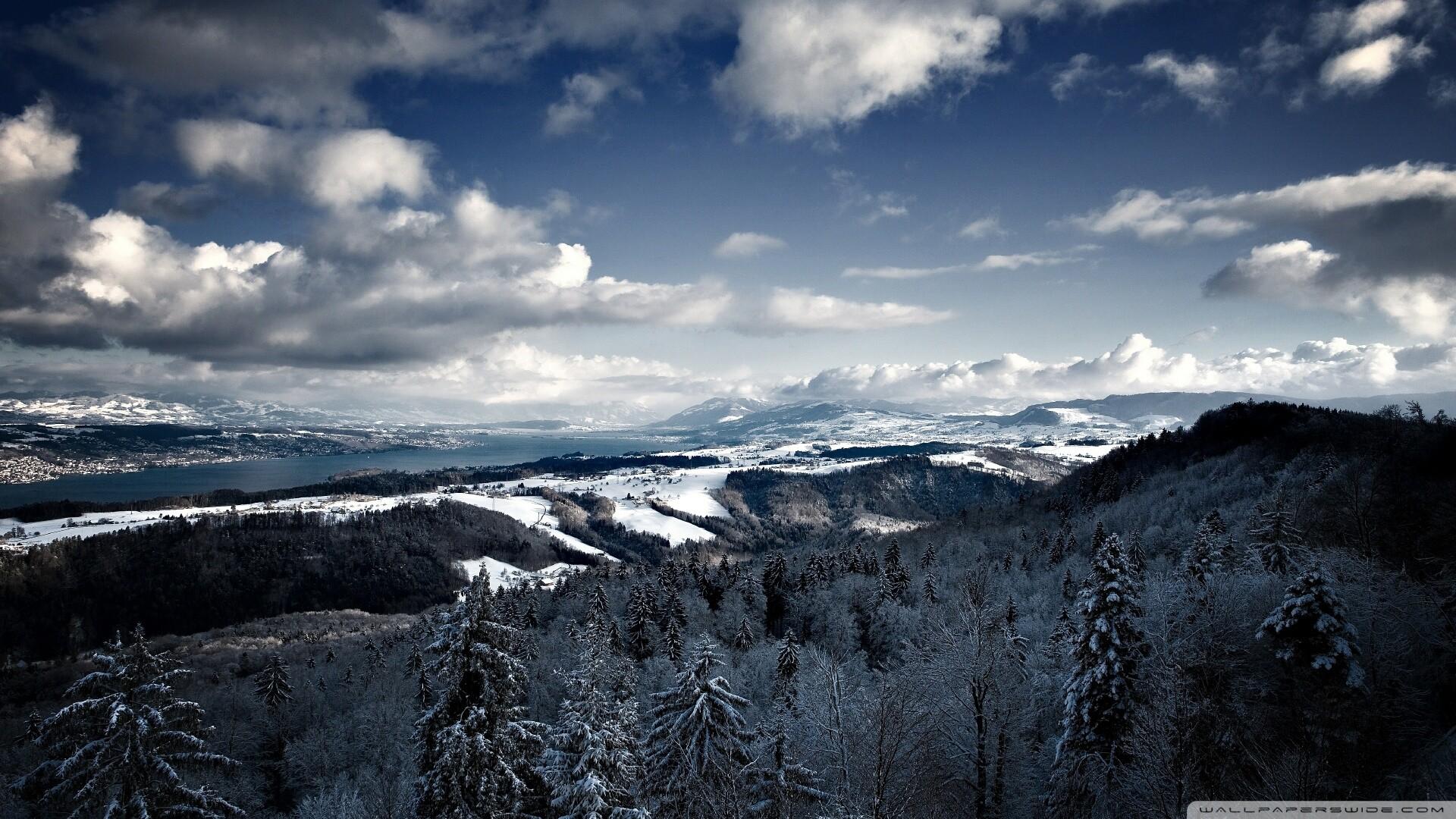 Mountains Winter Wallpaper Mountains, Winter