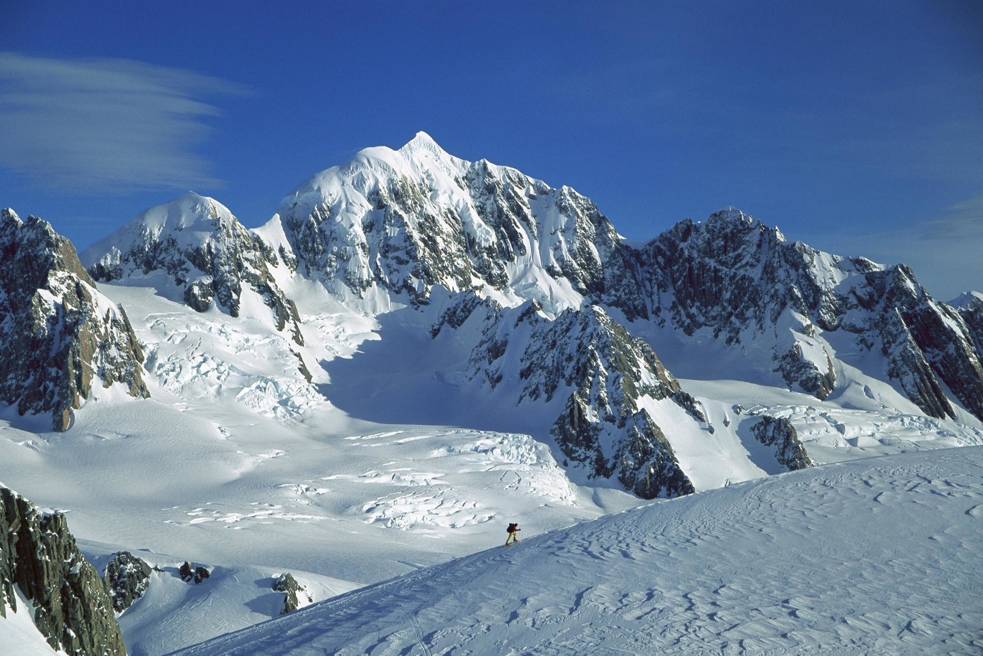 Snow Winter Mountain Wallpaper | Wallpaper Download