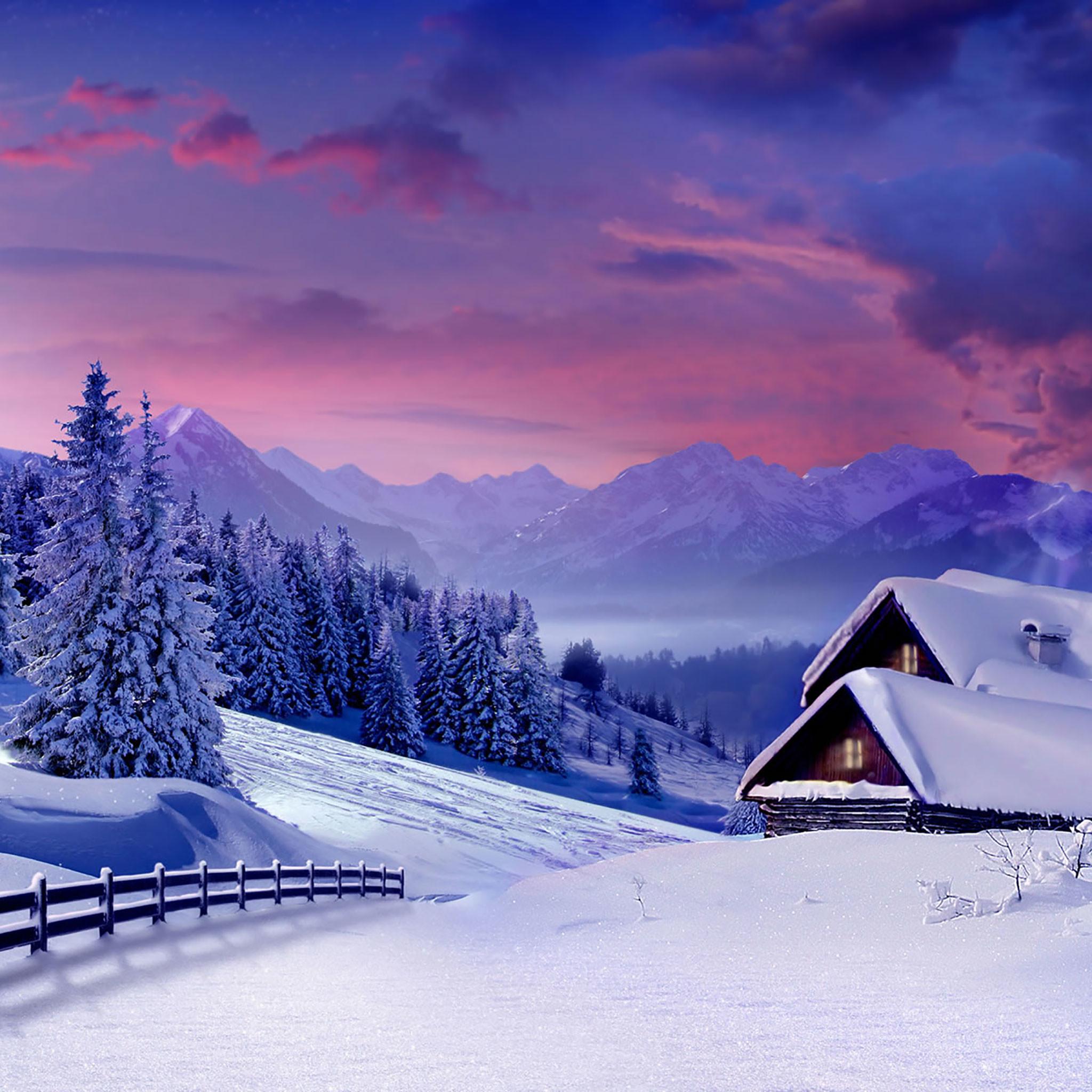 Winter iPad Wallpaper 17