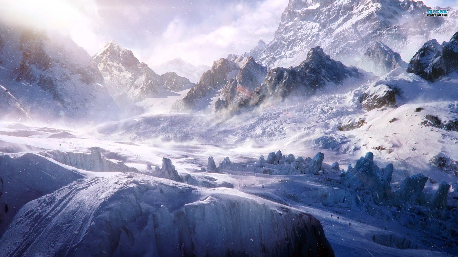 Gallery for Snow Mountains Wallpaper.
