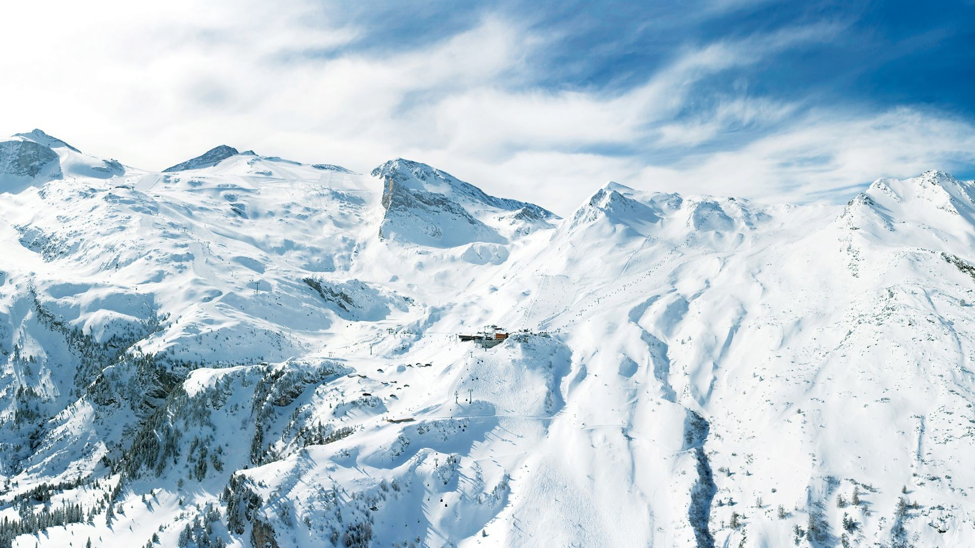 Winter Mountain Wallpaper HD #5338