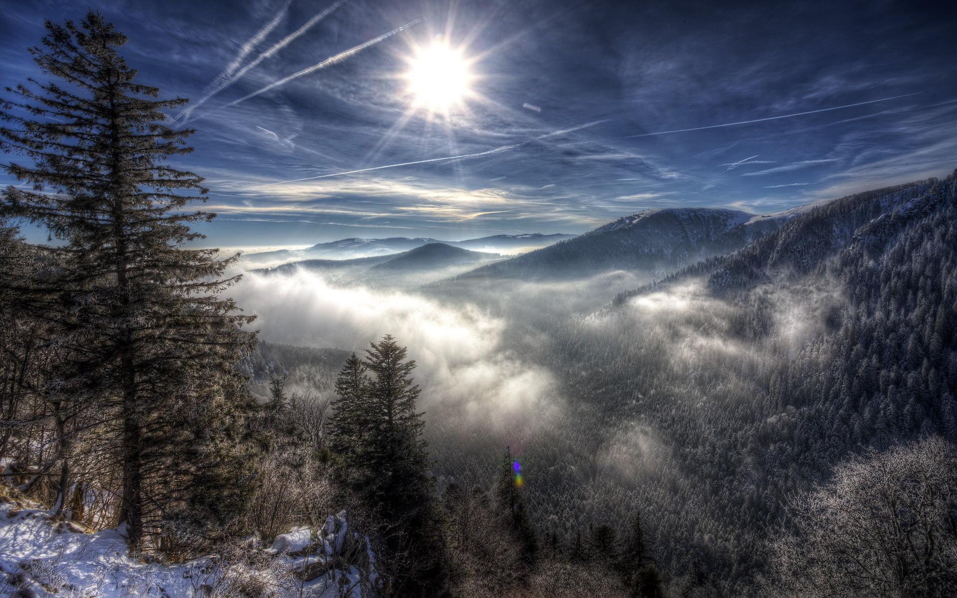 winter mountain wallpaper. Â«Â«