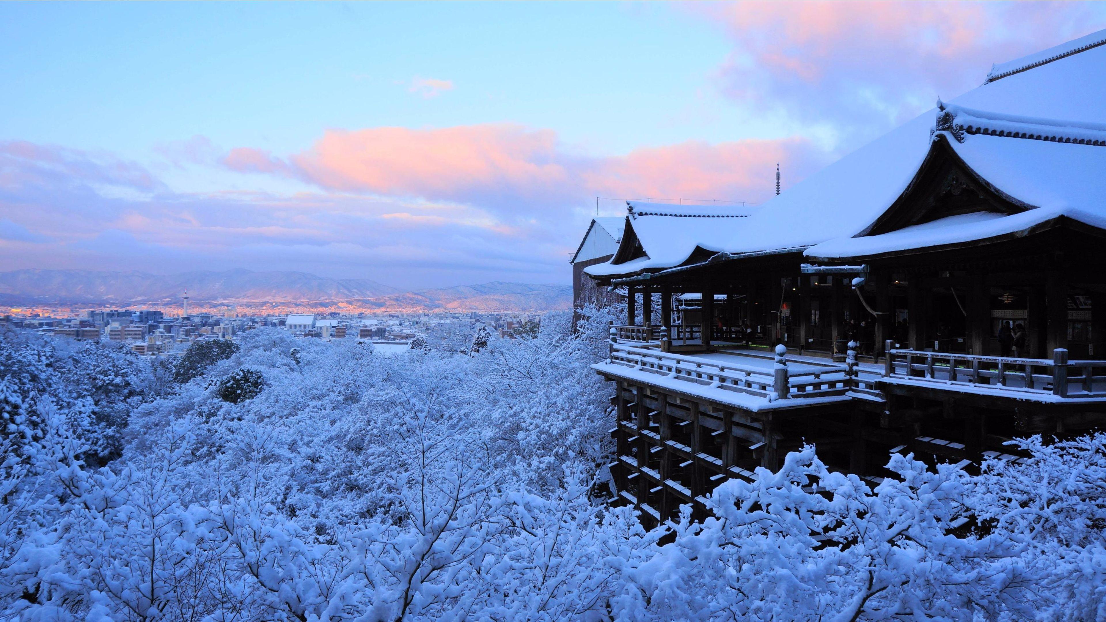Amazing Winter 2016 Kyoto, Japan 4K Wallpaper | Free 4K Wallpaper