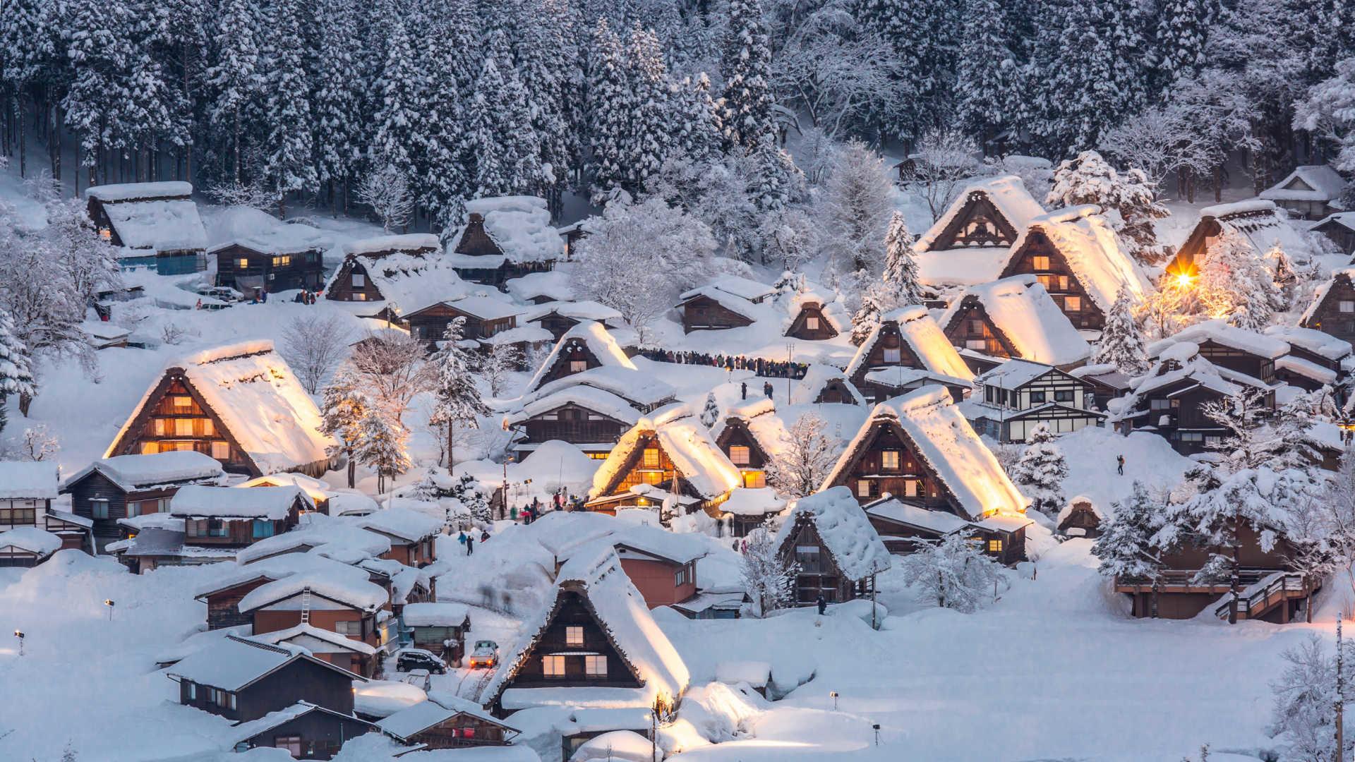 Winter Highlights Of Japan