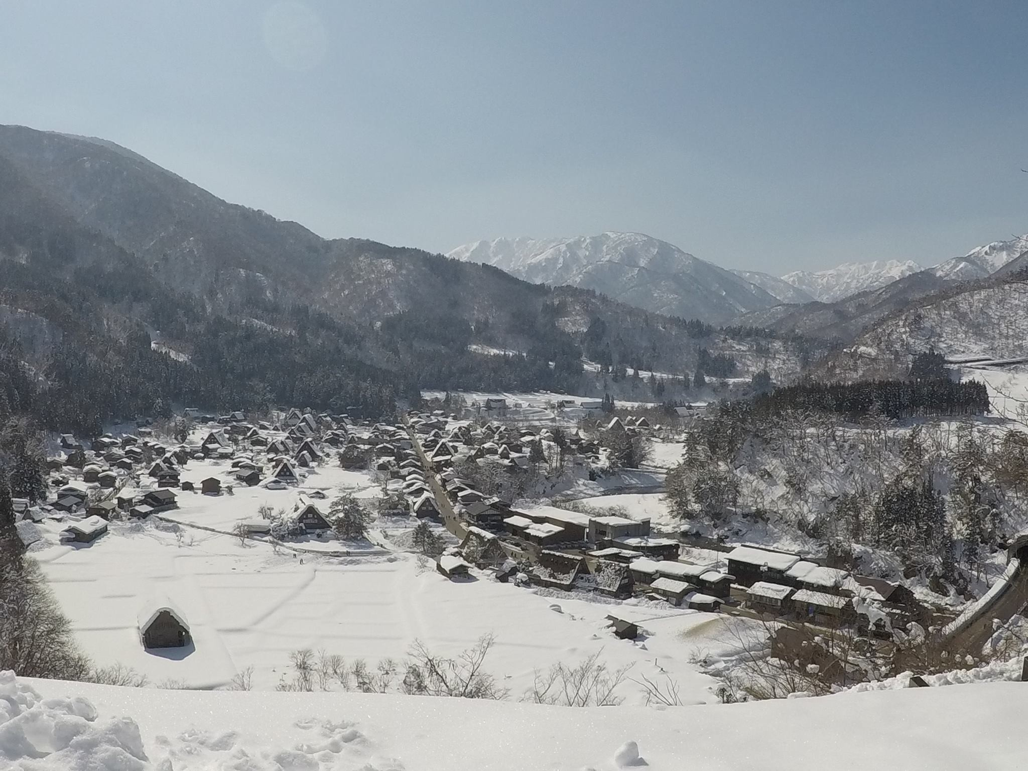 Shirakawa-go Village by Bus