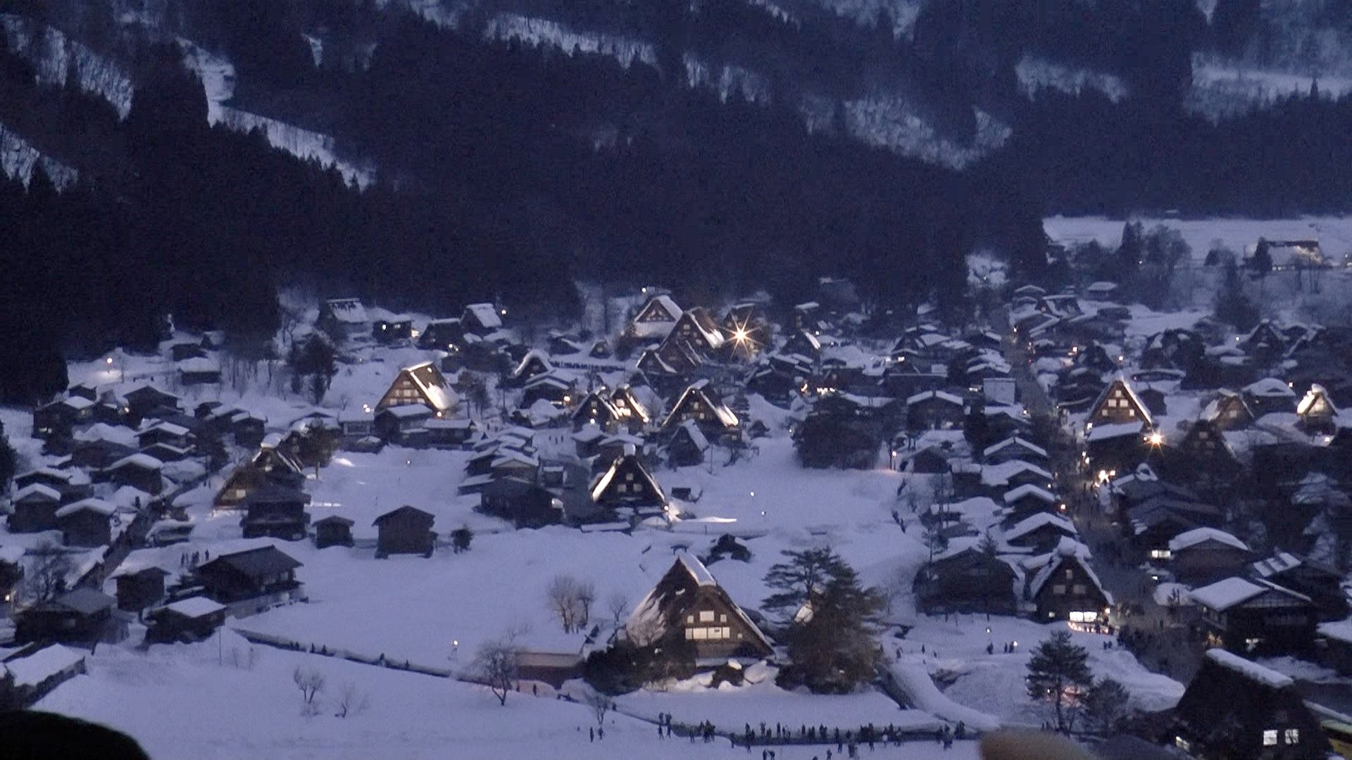"YOKOSO Japan Tour — ""World Heritage Site Shirakawago Light up in Winter""(白川鄉夜景)  — – YouTube"