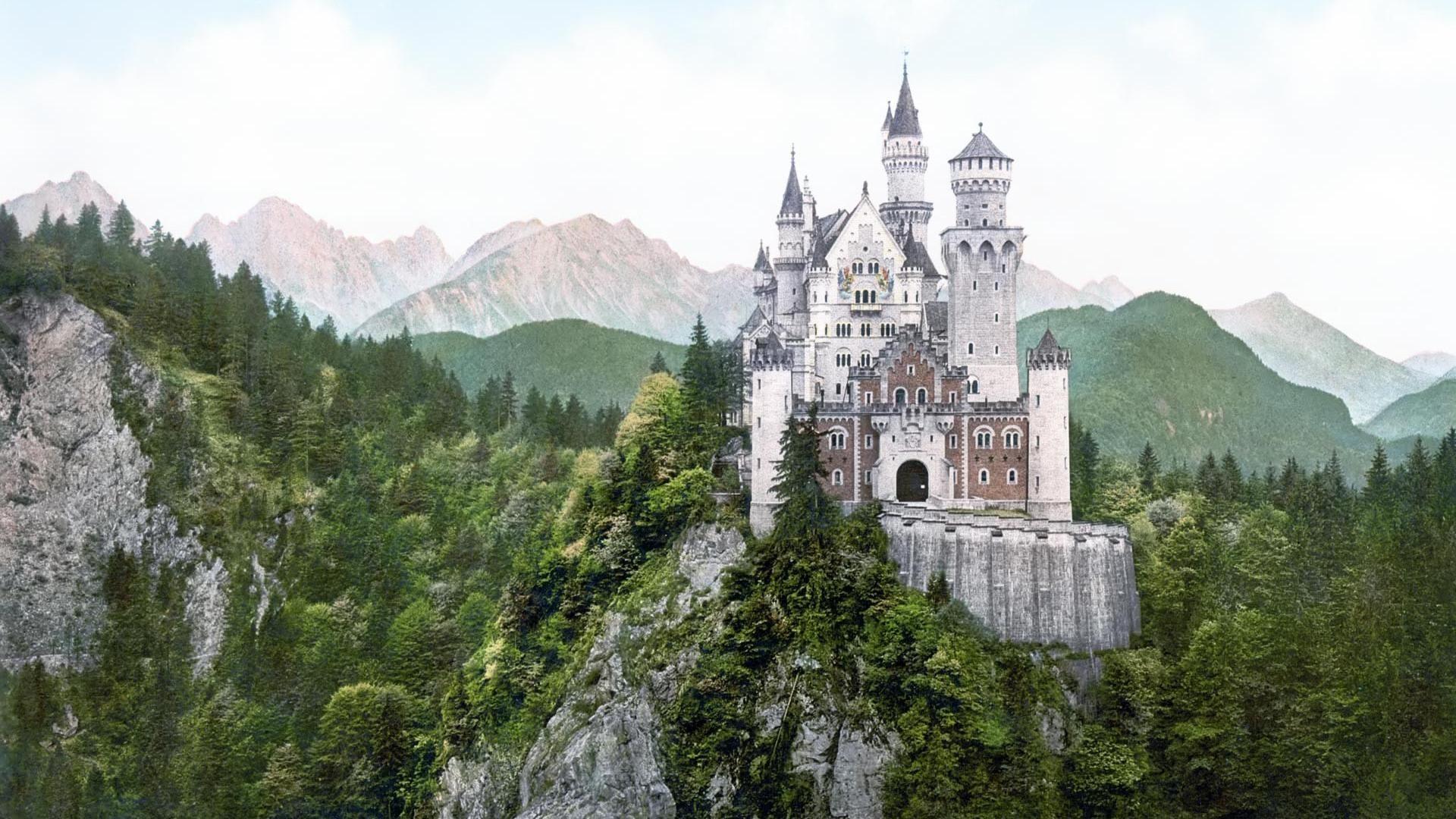 Germany Landscape Castle