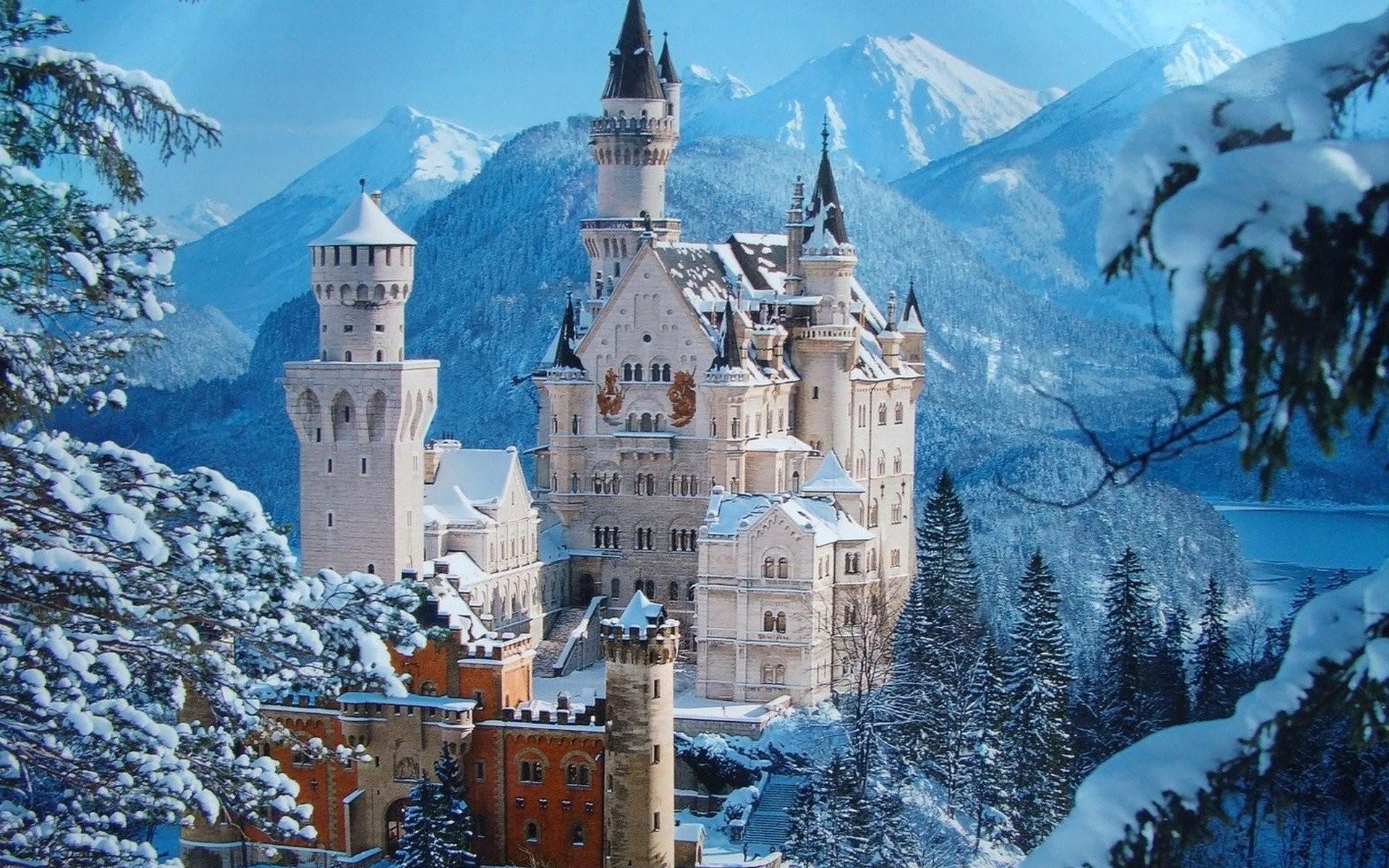 Neuschwanstein-Castle-German-HD-Wallpaper