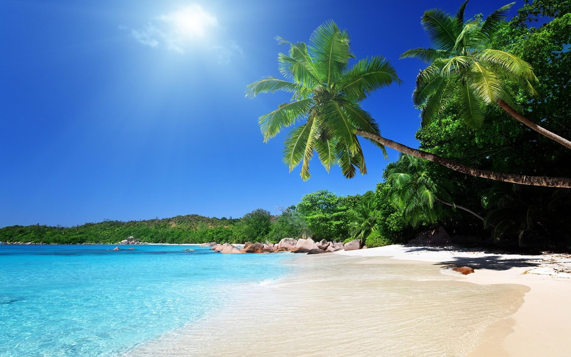 sunshine beautiful beach image. high resolution beautiful beach background