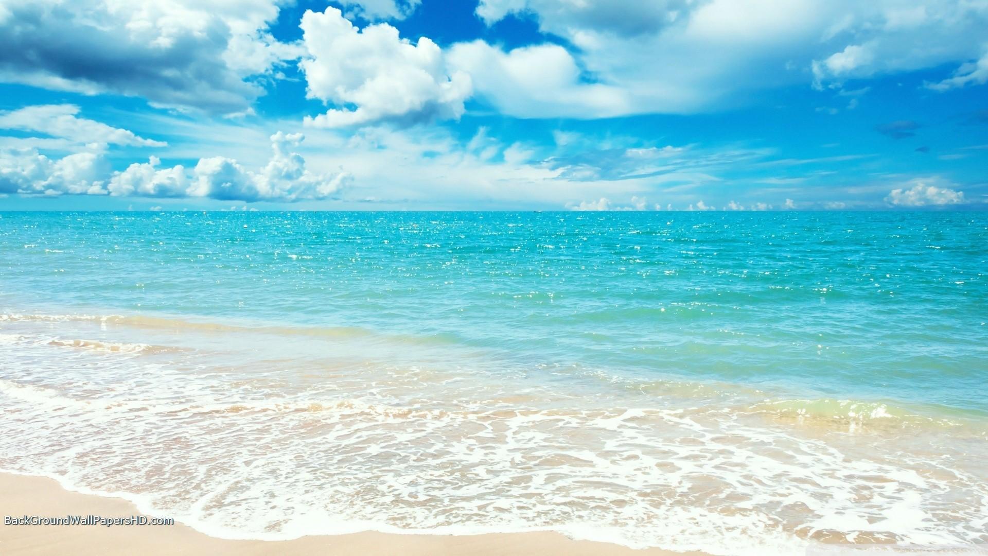 Pretty Beach HD Wallpaper   HD Wallpapers, HD Backgrounds