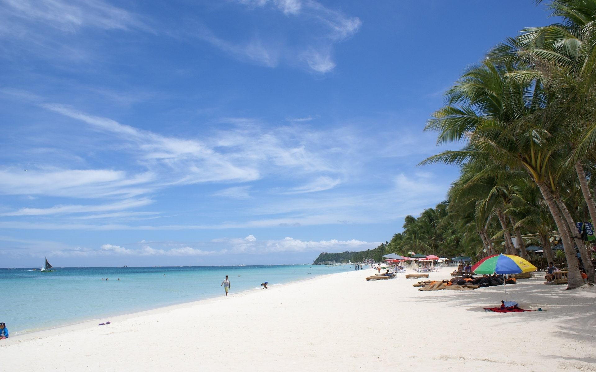 Wallpapers Backgrounds – Beautiful beach wallpapers Boracay island  Philippines