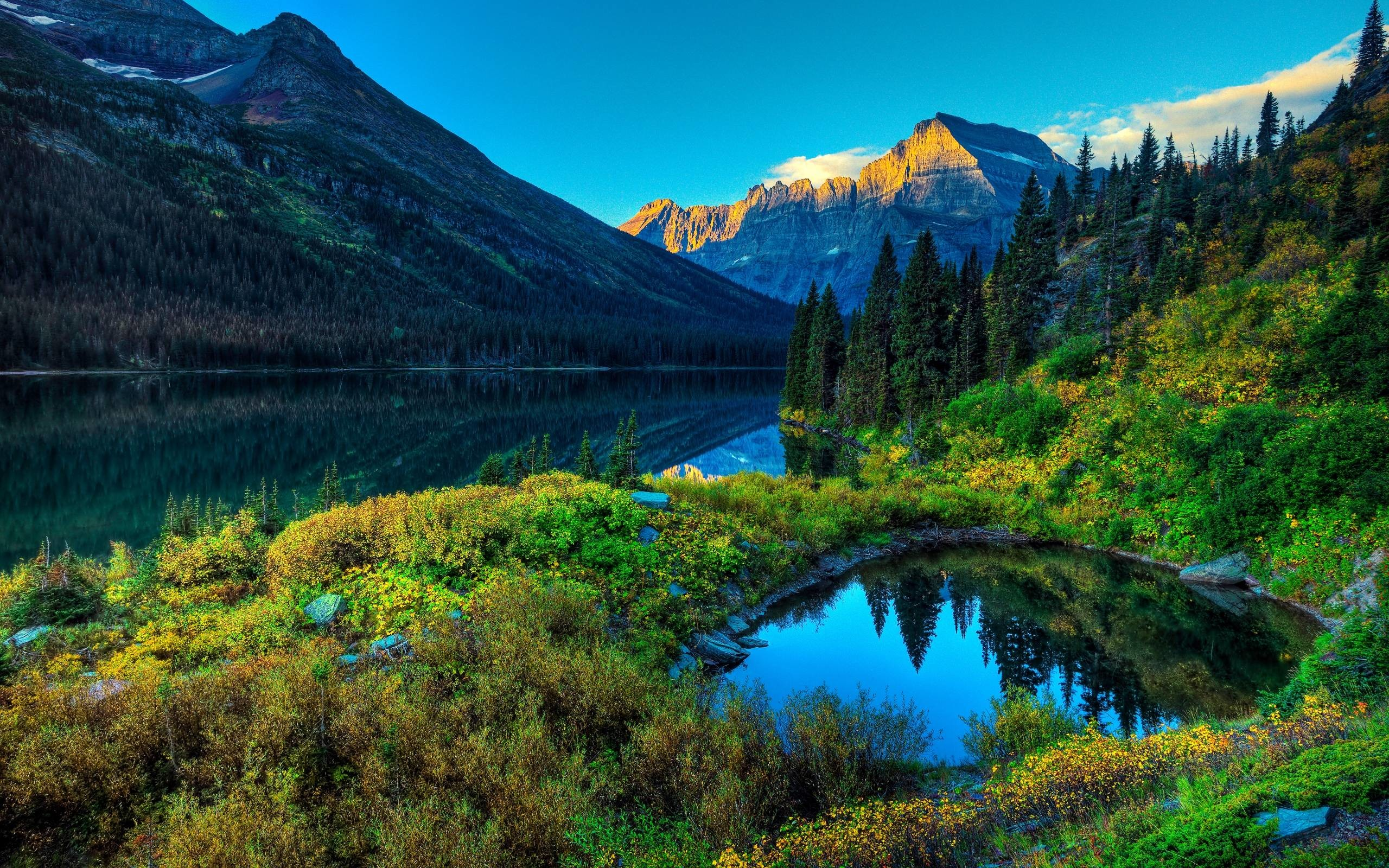 Water Hd Spring Wallpaper Simple White Decoration Ideas Personalized  Reflection Sample Mountain