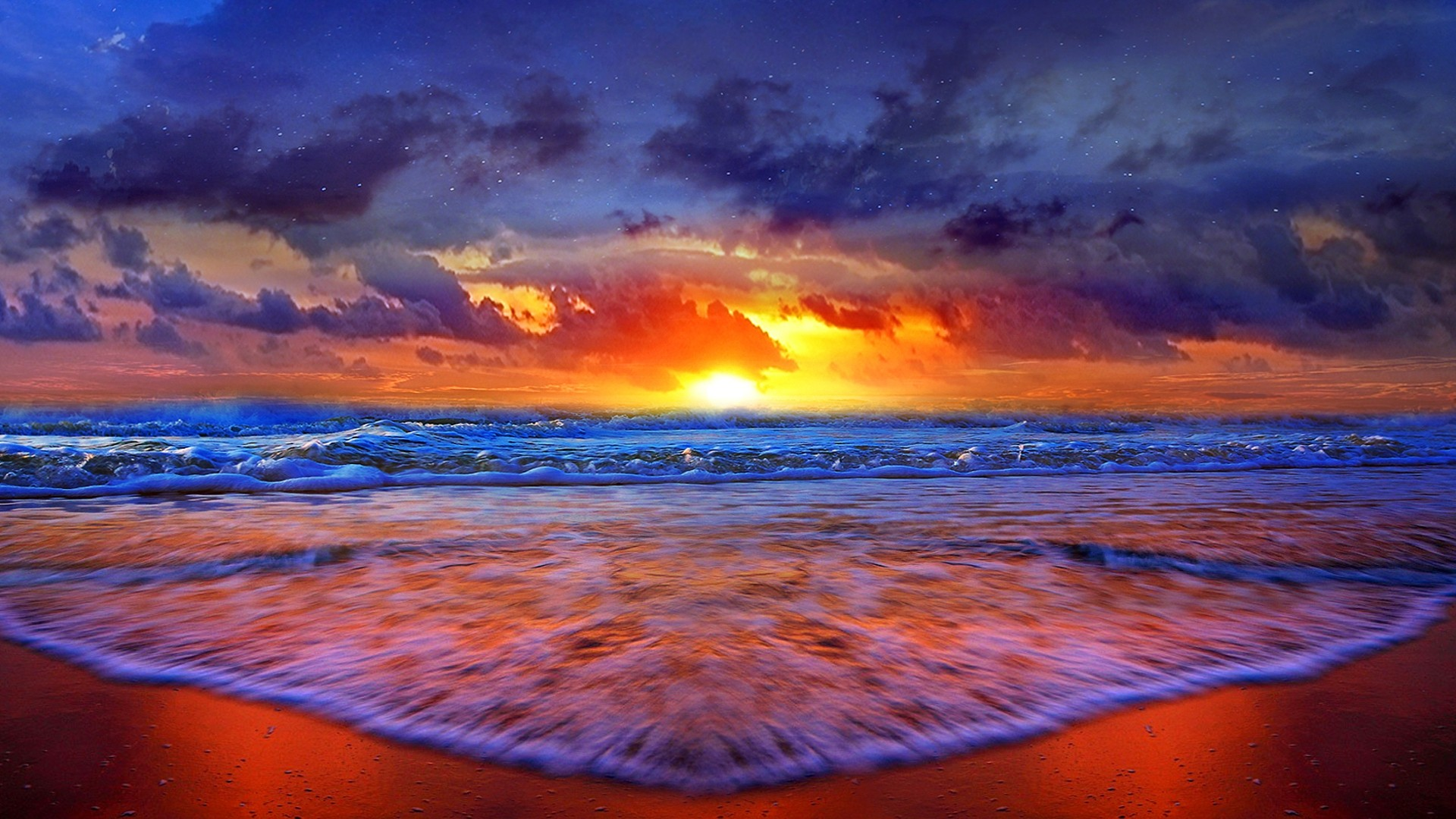 The Sunset HD Desktop Background