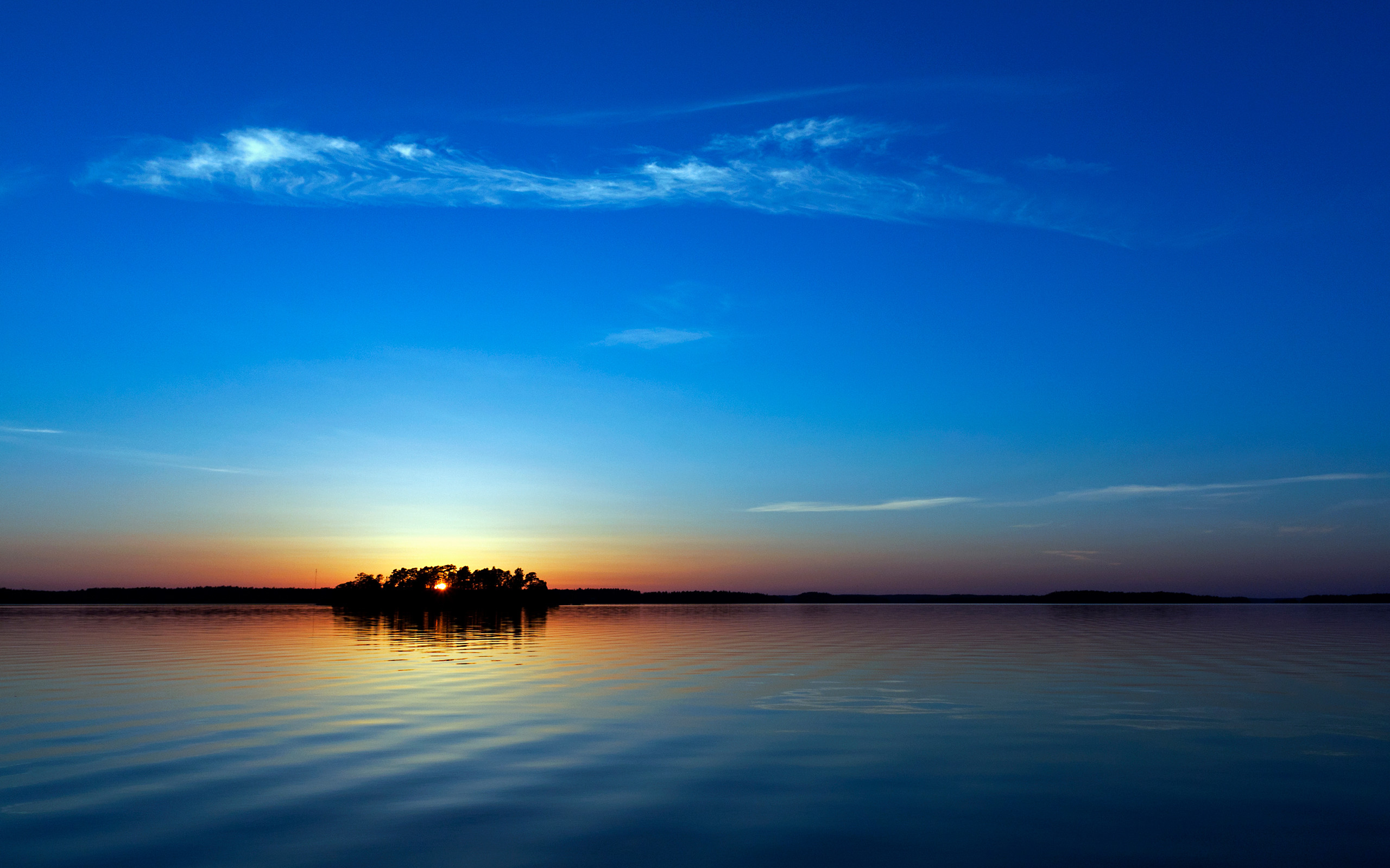 Blue Sunset Wallpapers   HD Wallpapers