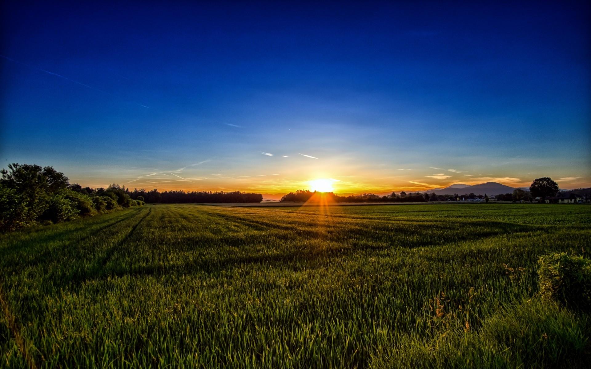 HD Sunset Wallpaper Background