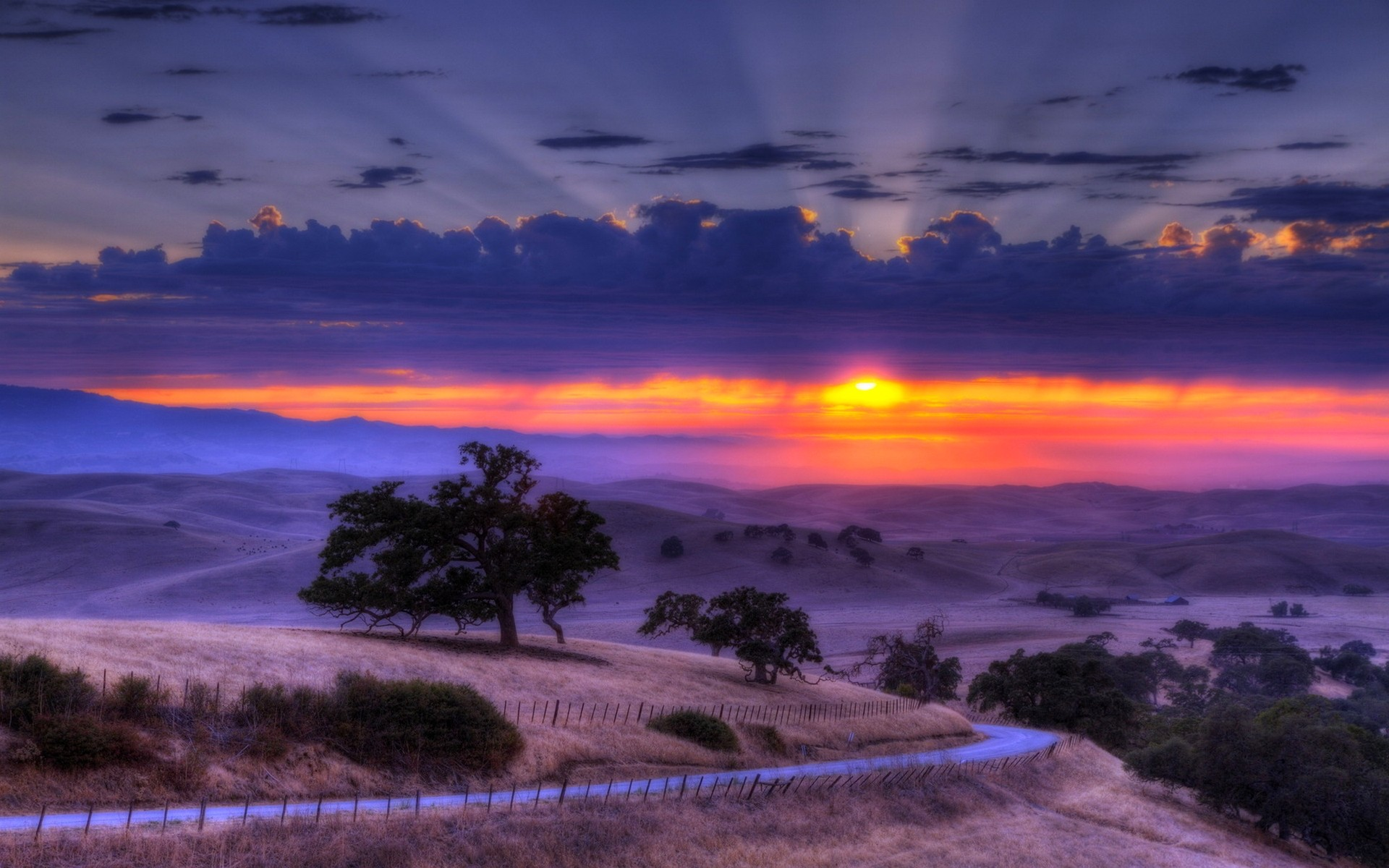 Gorgeous Sunset Wallpaper