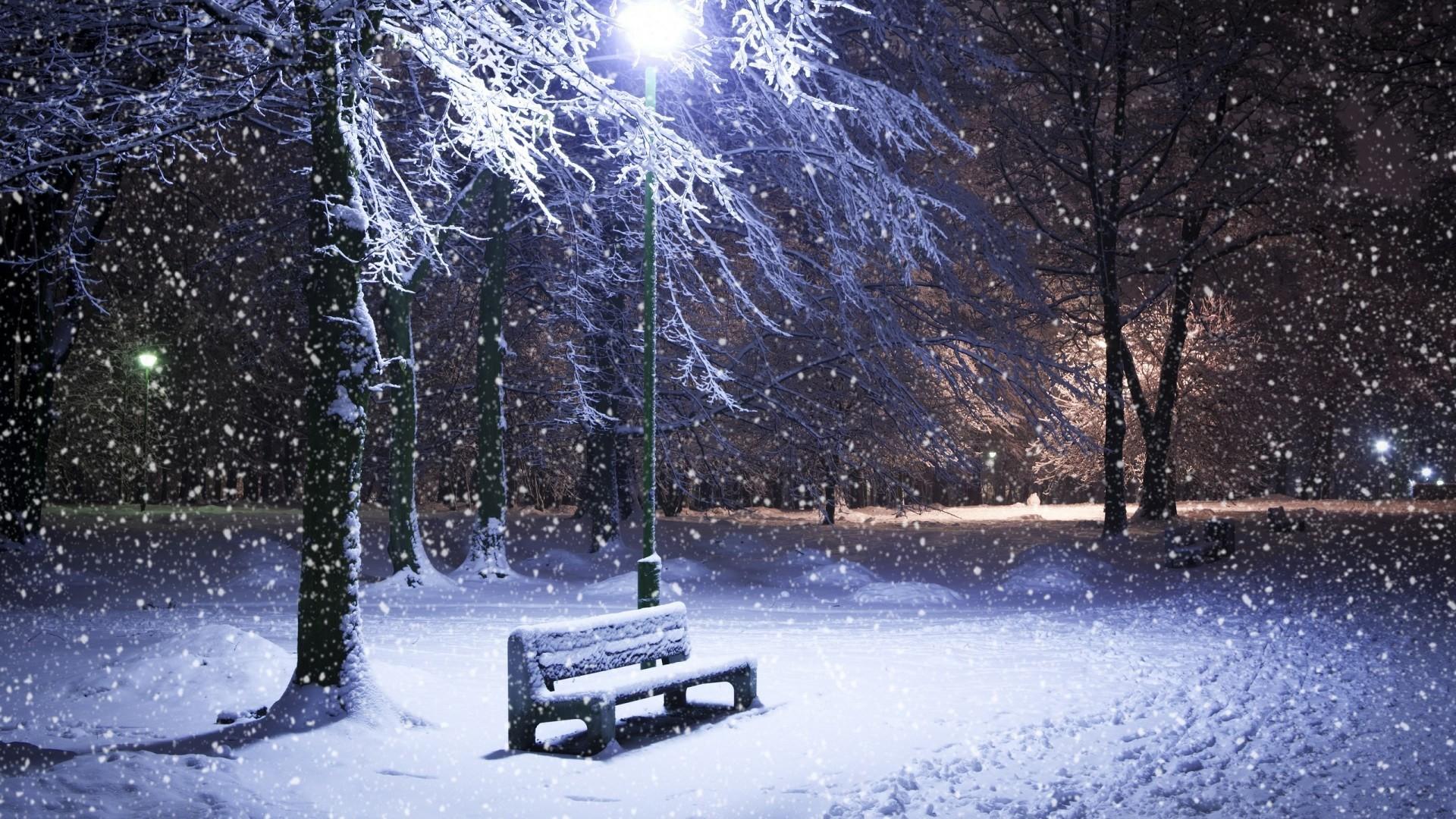 Winter Snow Desktop Wallpaper This