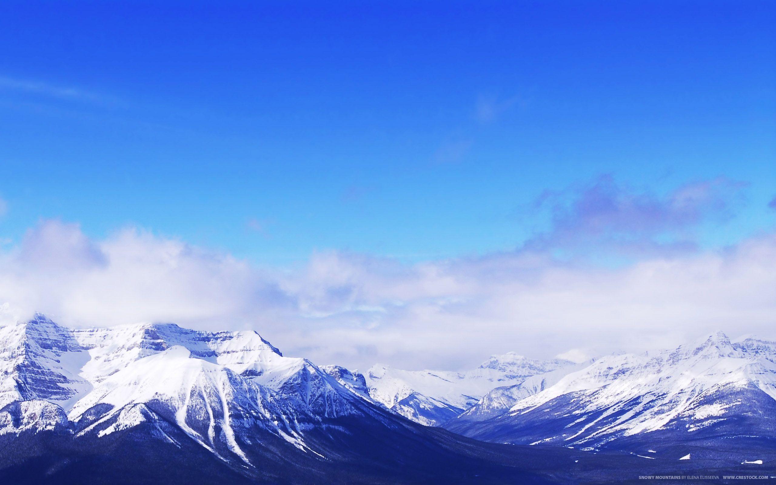 Beautiful Snowy Mountain Wallpaper HD – dlwallhd.com