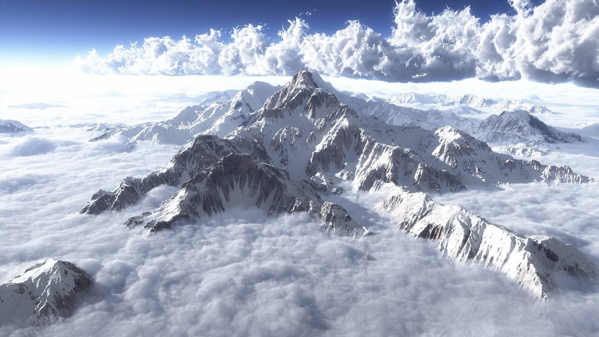 Snowy Mountains Wallpaper 3454