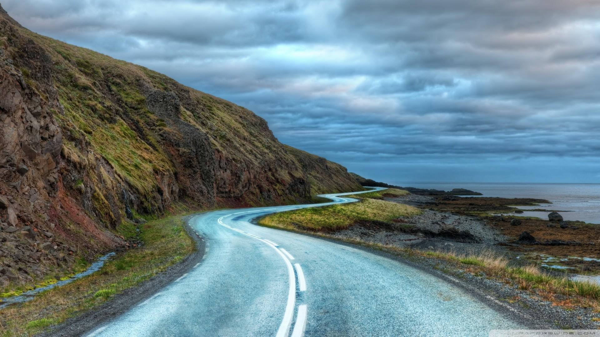 Road Around Iceland Wallpaper Road, Around, Iceland