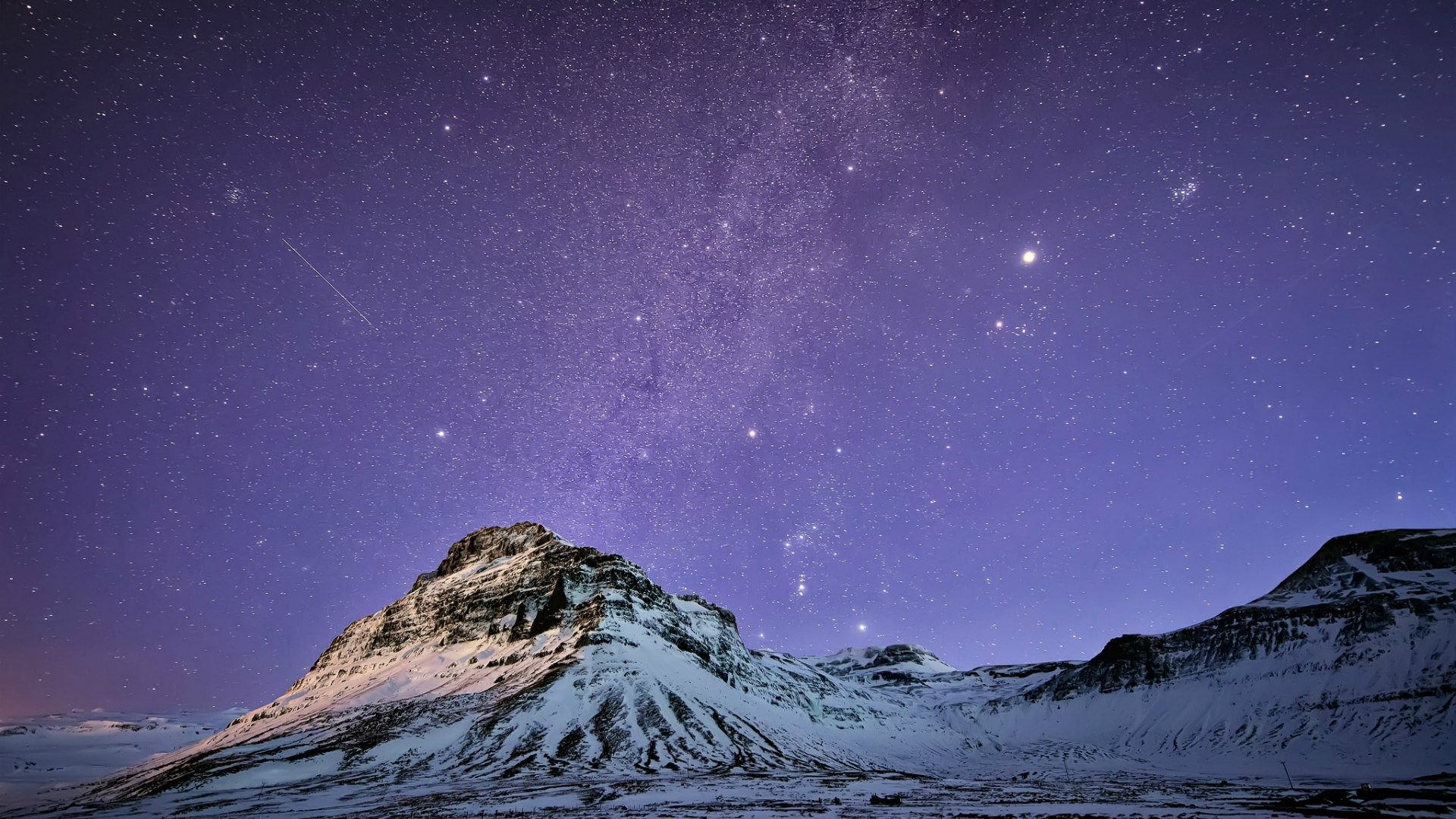 The Milky Way in Iceland