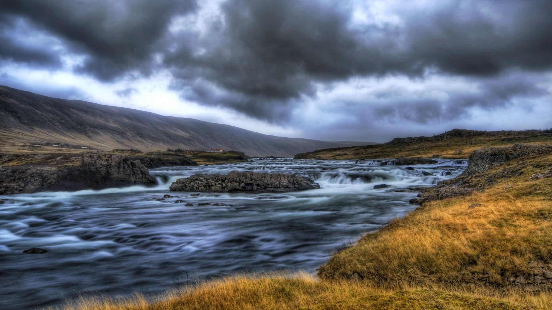 Iceland Landscape Wallpaper, Art Print, Poster, Wallpapers