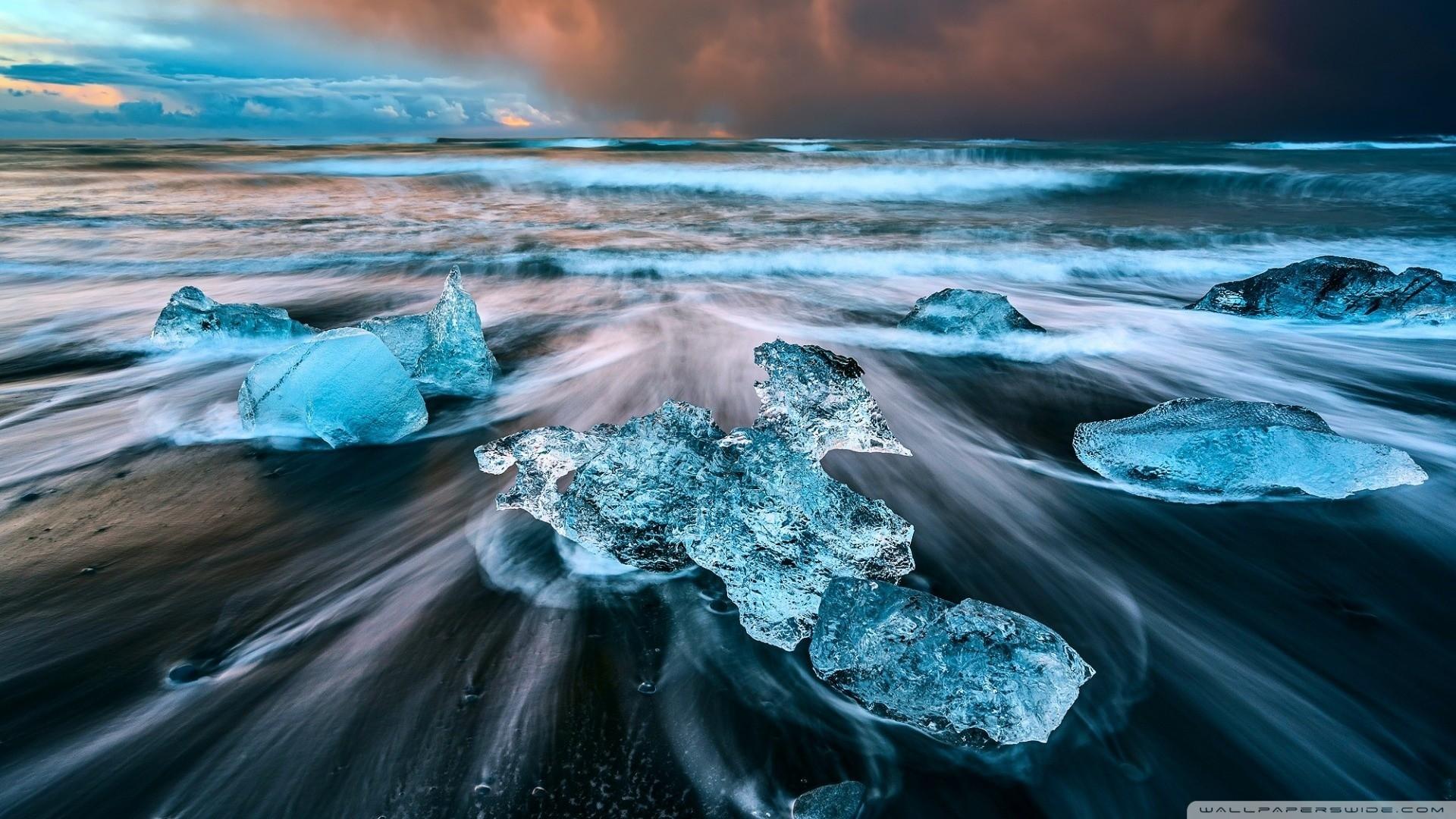 General ice beaches Iceland